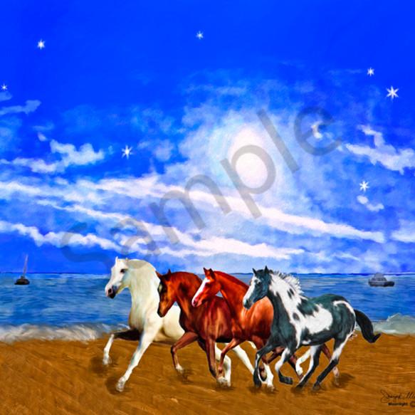 Horses uugaxn