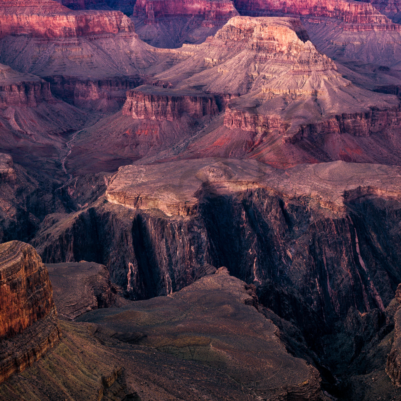 Grand canyon at dusk hopi point mqlnkr