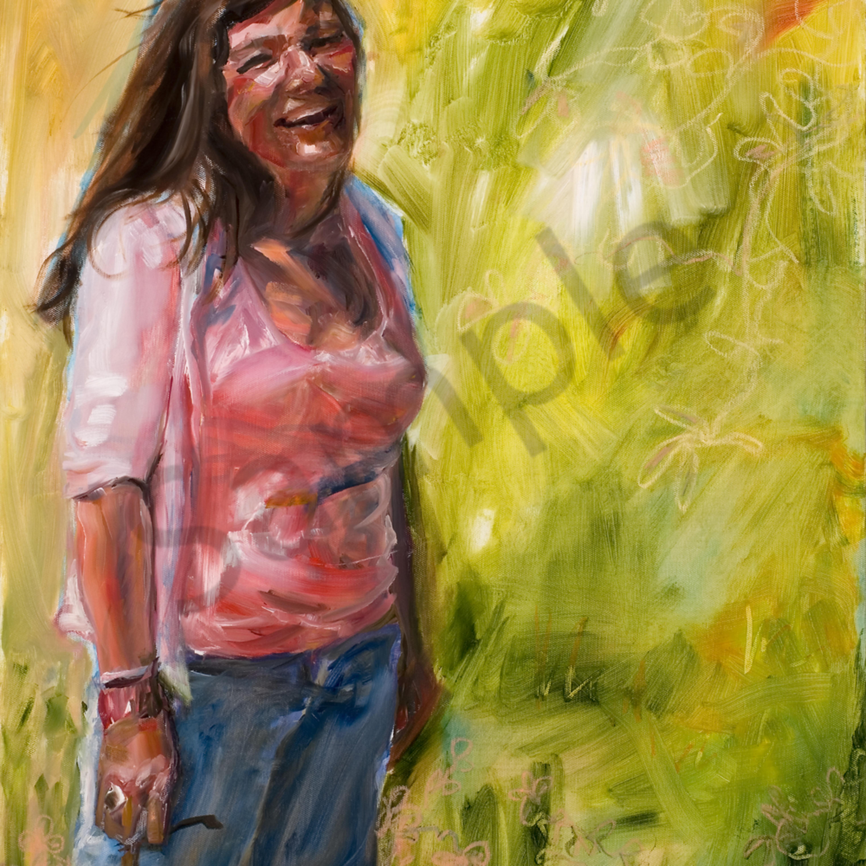 Portrait of a joyous woman s5m1wh