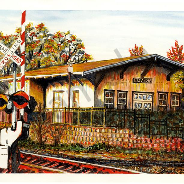 Smyrna railroad station acb5ff