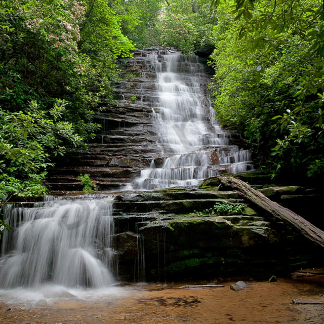 5039  5038 waterfall smokies 4x6 baowo5