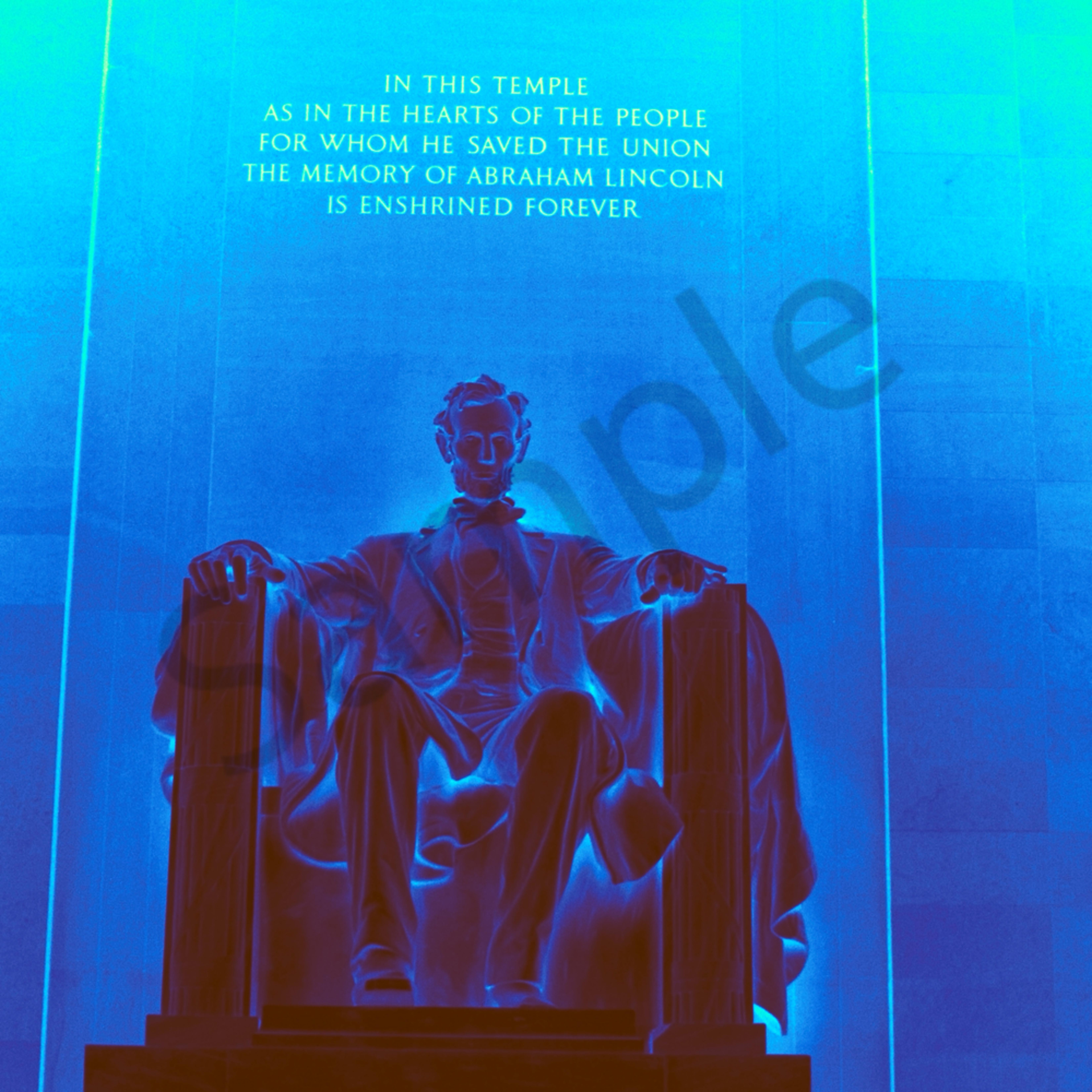 Abraham lincoln memorial g2zfgg