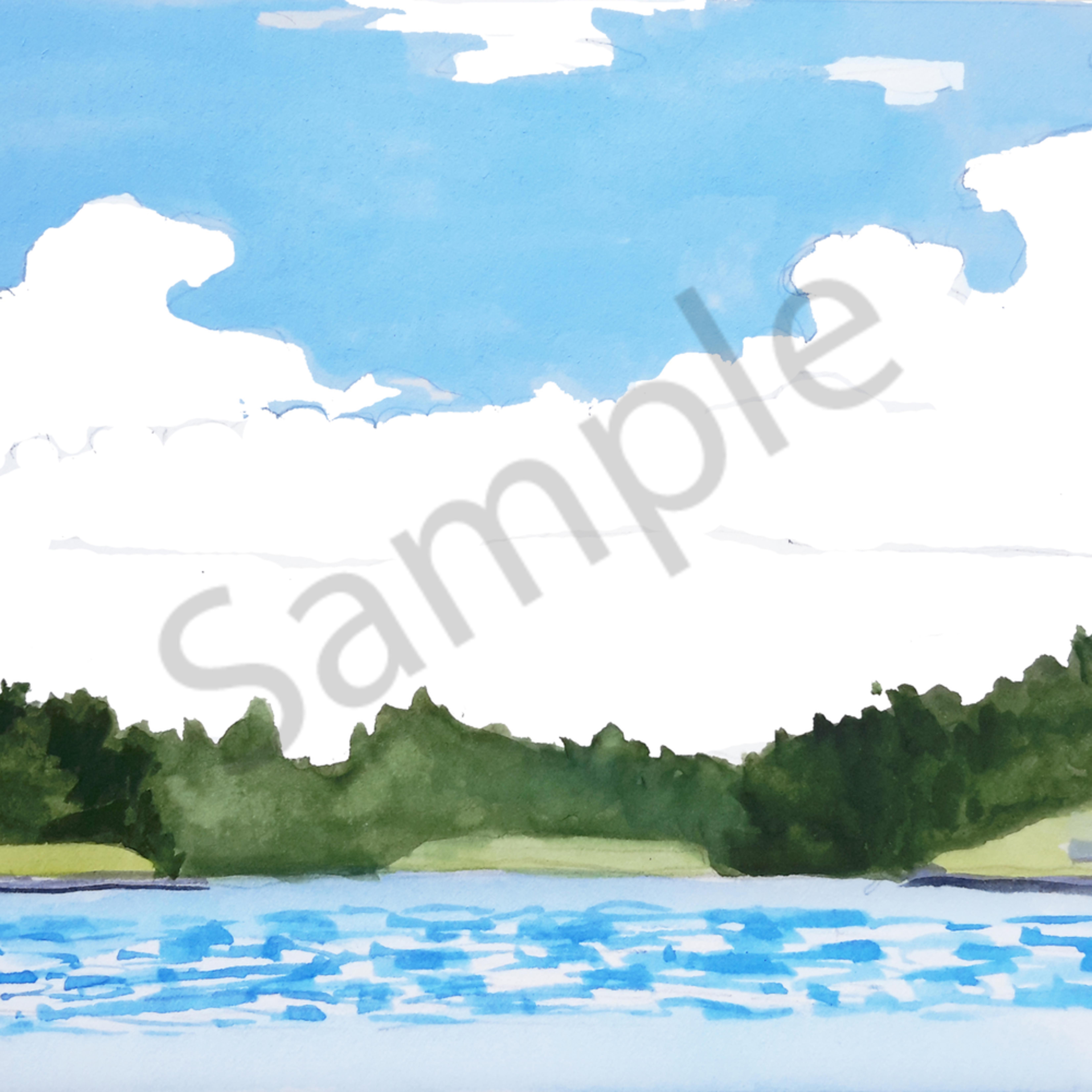 Lake day  print ueouwb