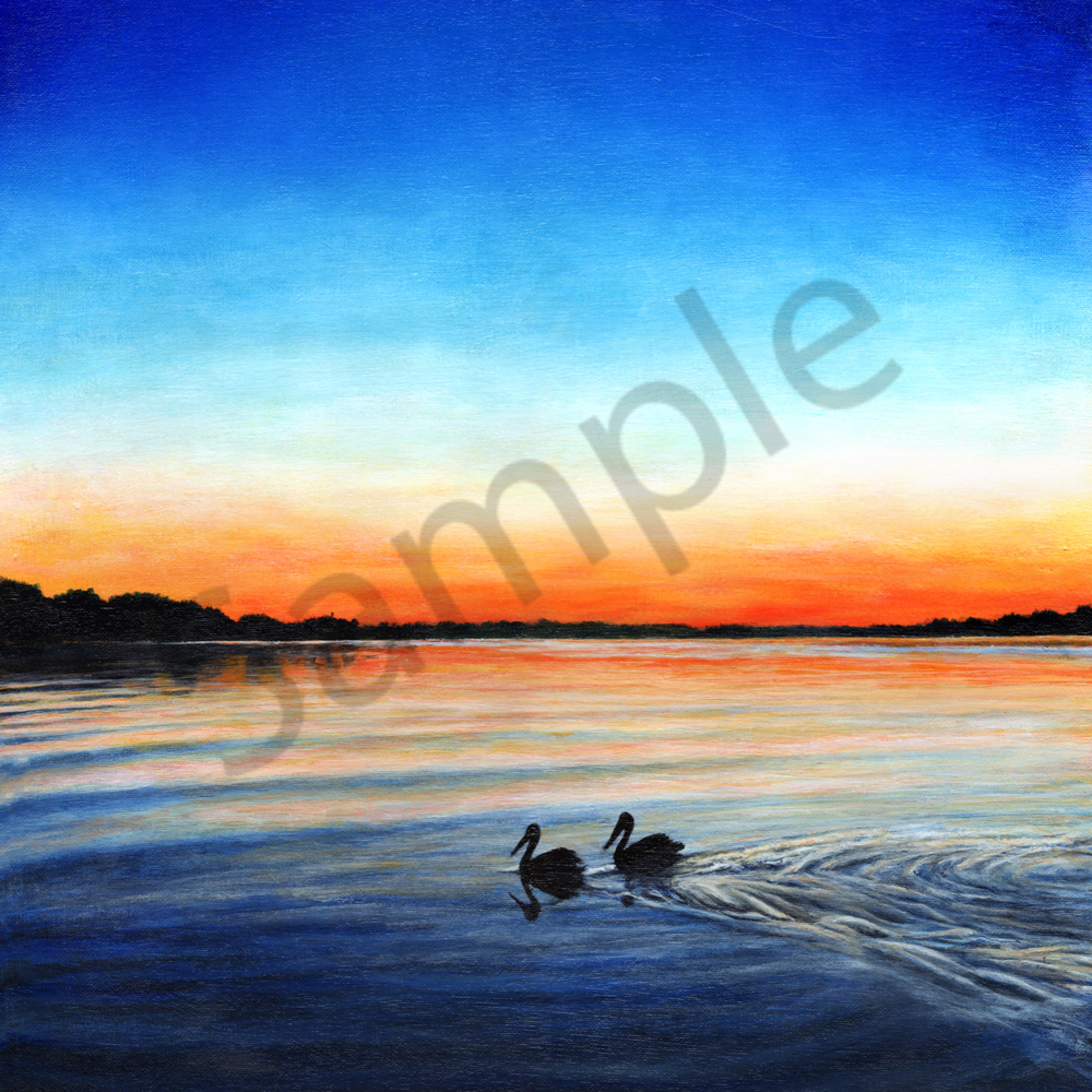 Pelican sunset print bhyhya