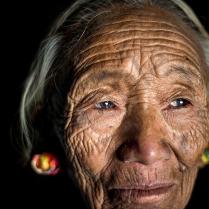 Naga woman portrait igaroq