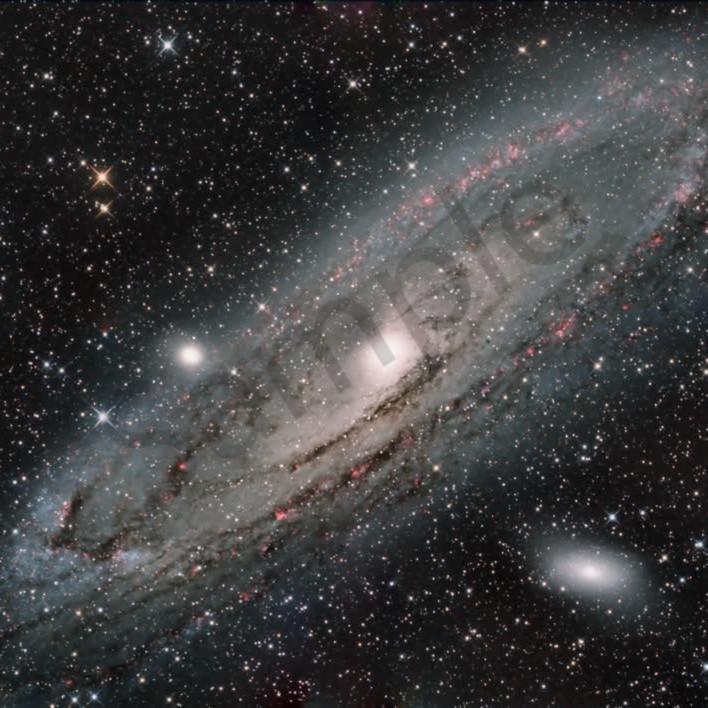Andromeda galaxy odqimi