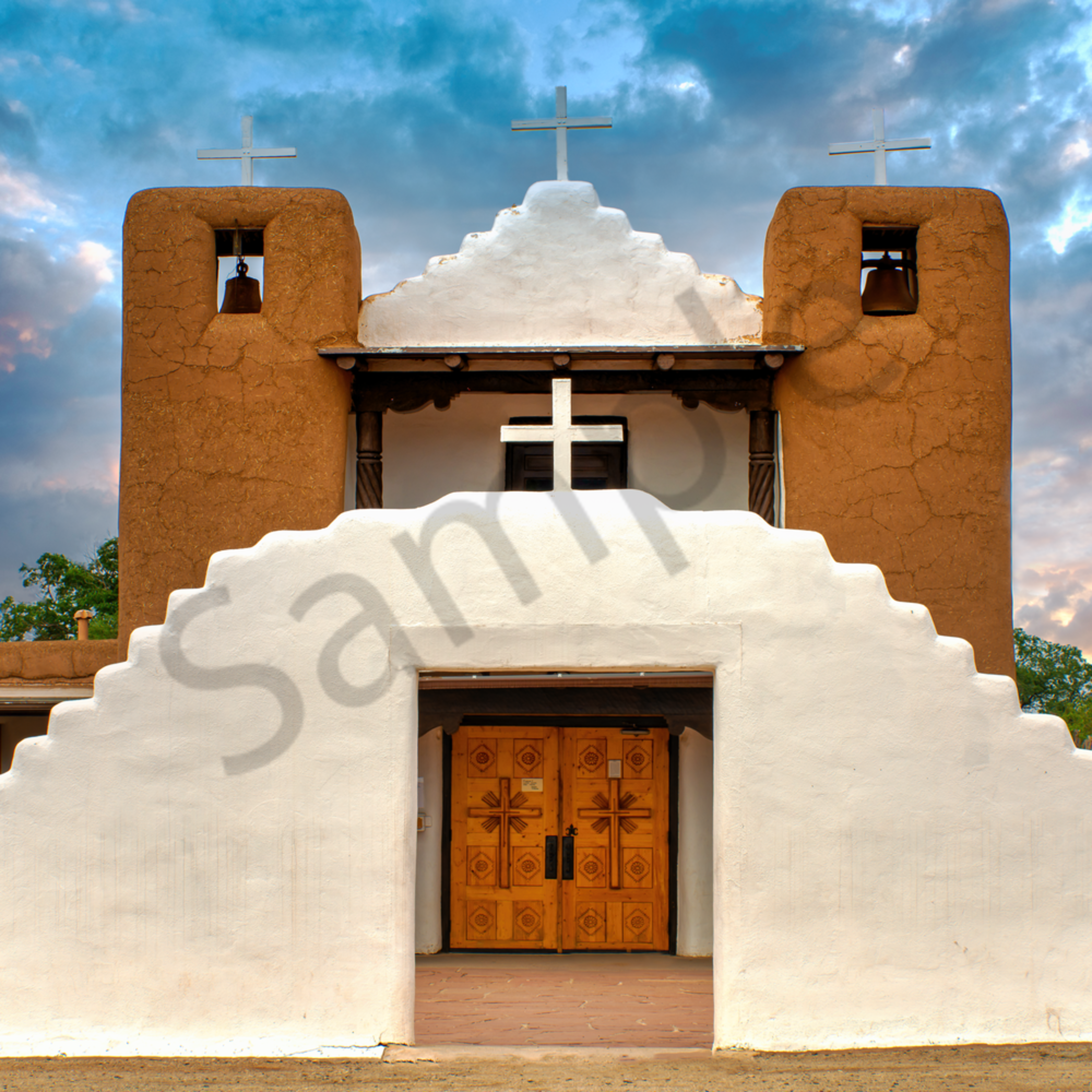The san geronimo chapel taos new mexico misulu