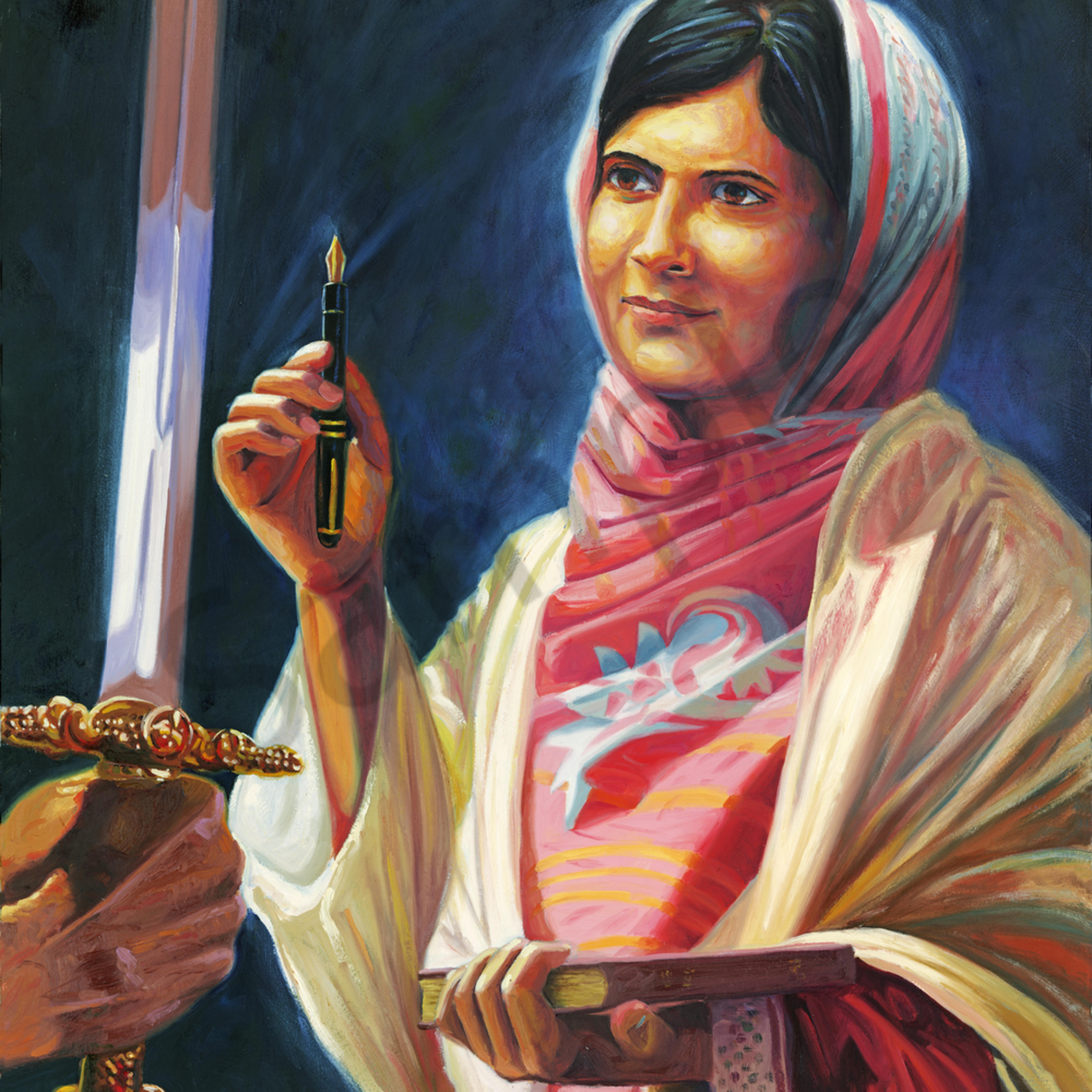 Malala yousafzai g8x4zv
