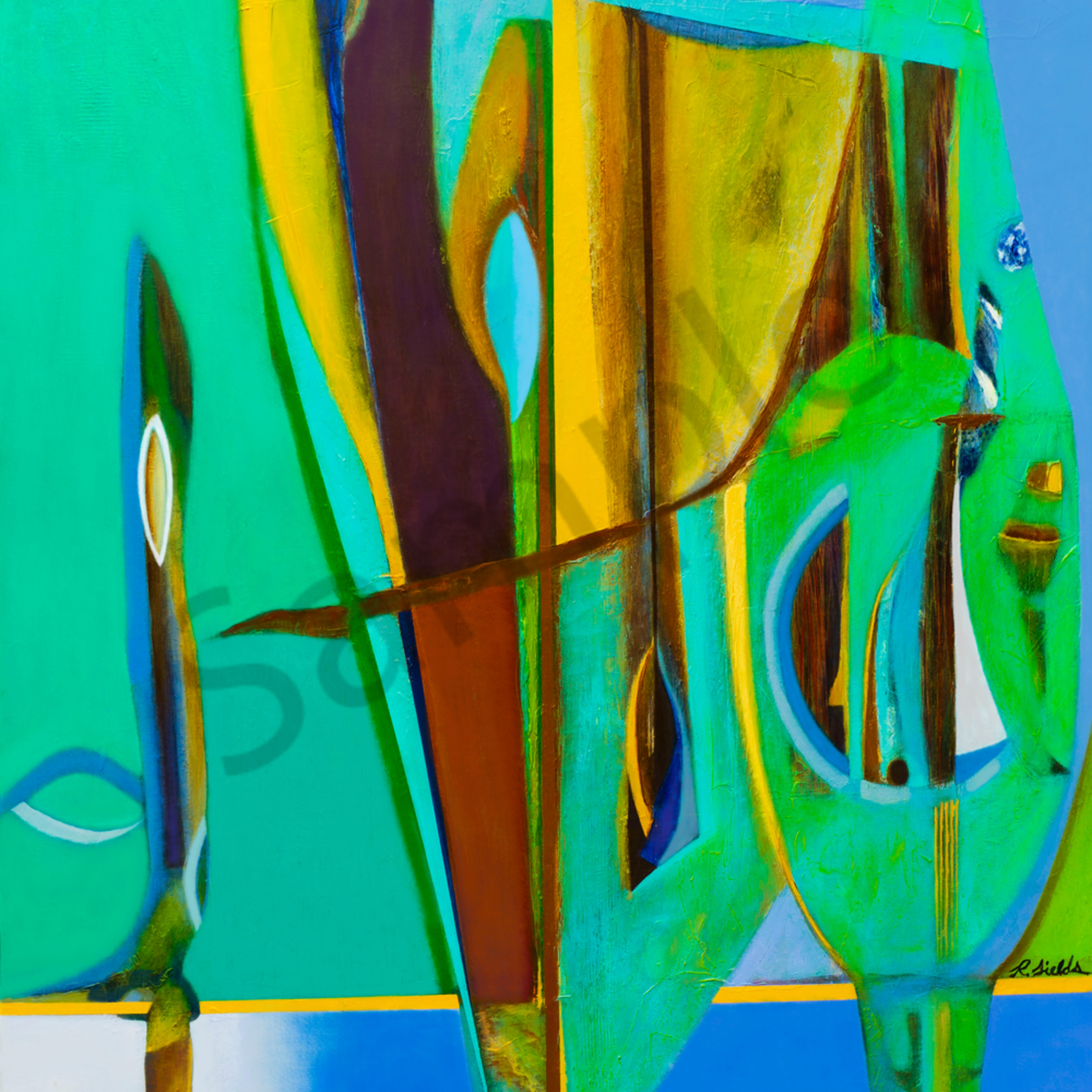 Ethnic abstract zlmvrj