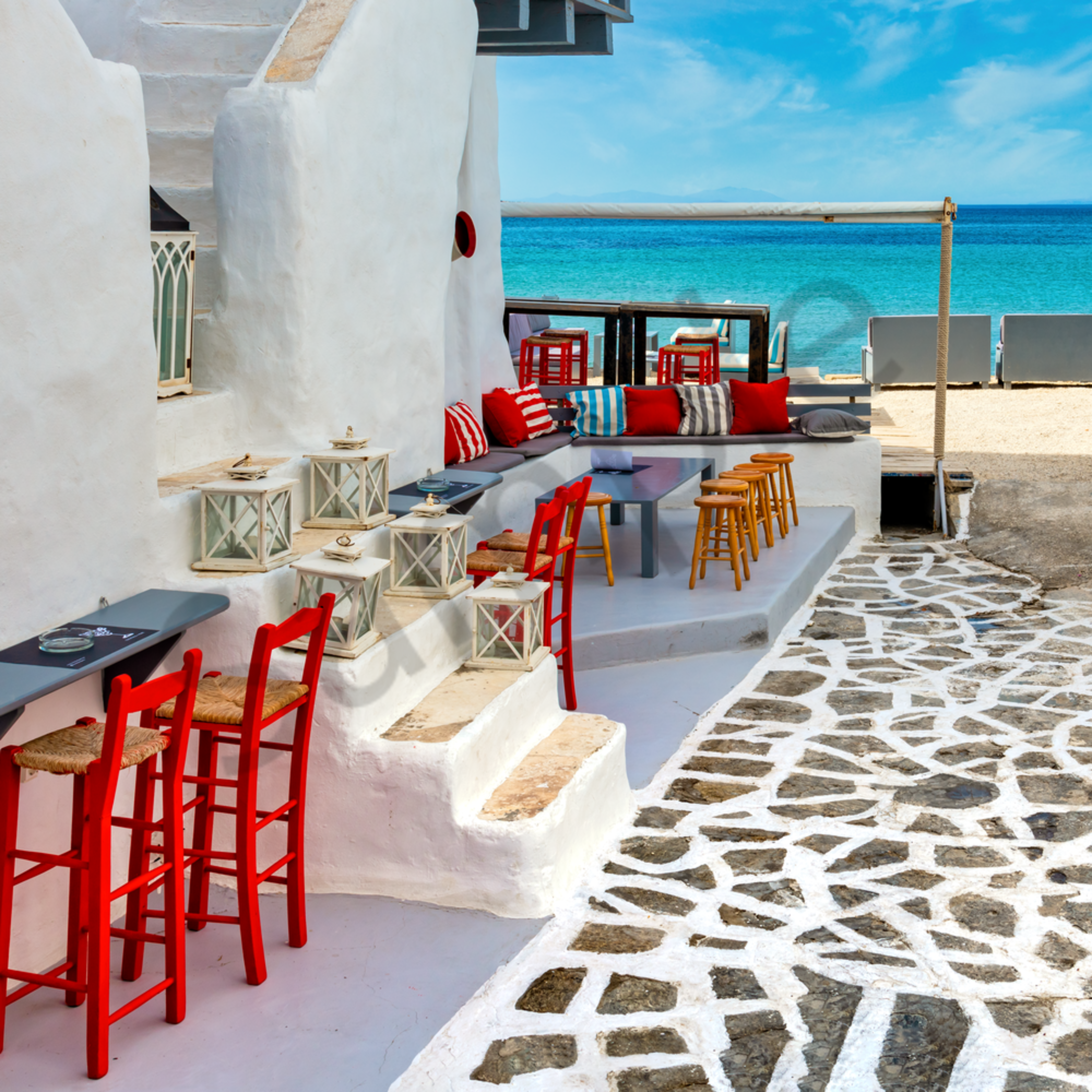 Beach access naousa paros greece zslezl