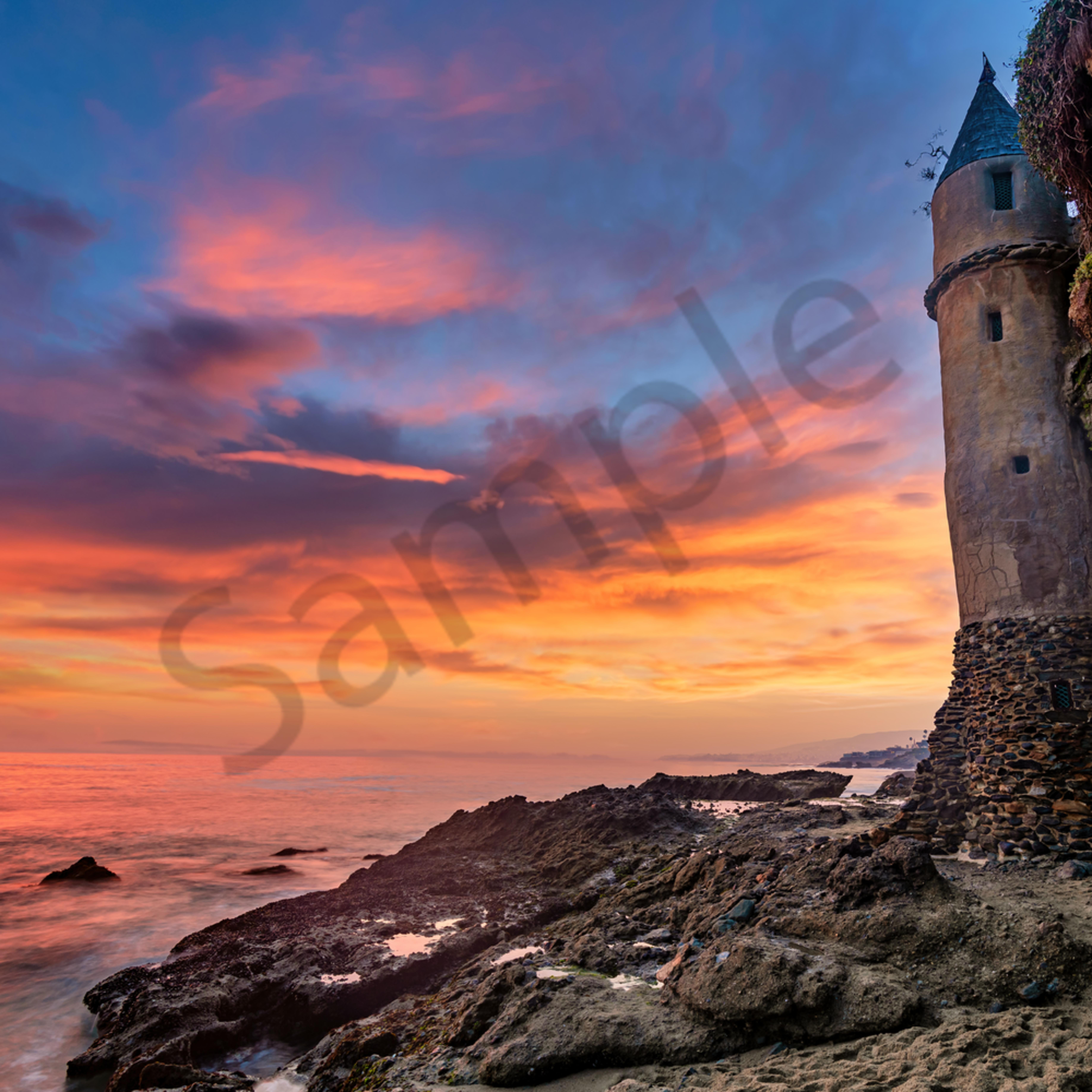 Pirates tower victoria beach laguna california o9n77a