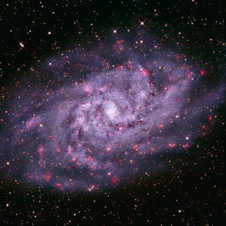 Triangulum galaxy f7a2he