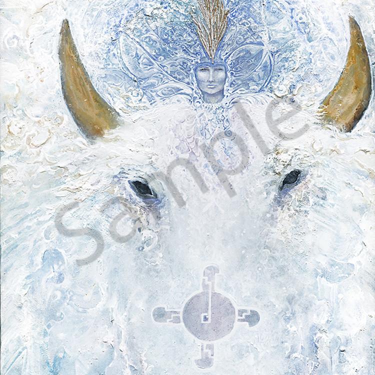 White buffalo woman hrhgf8