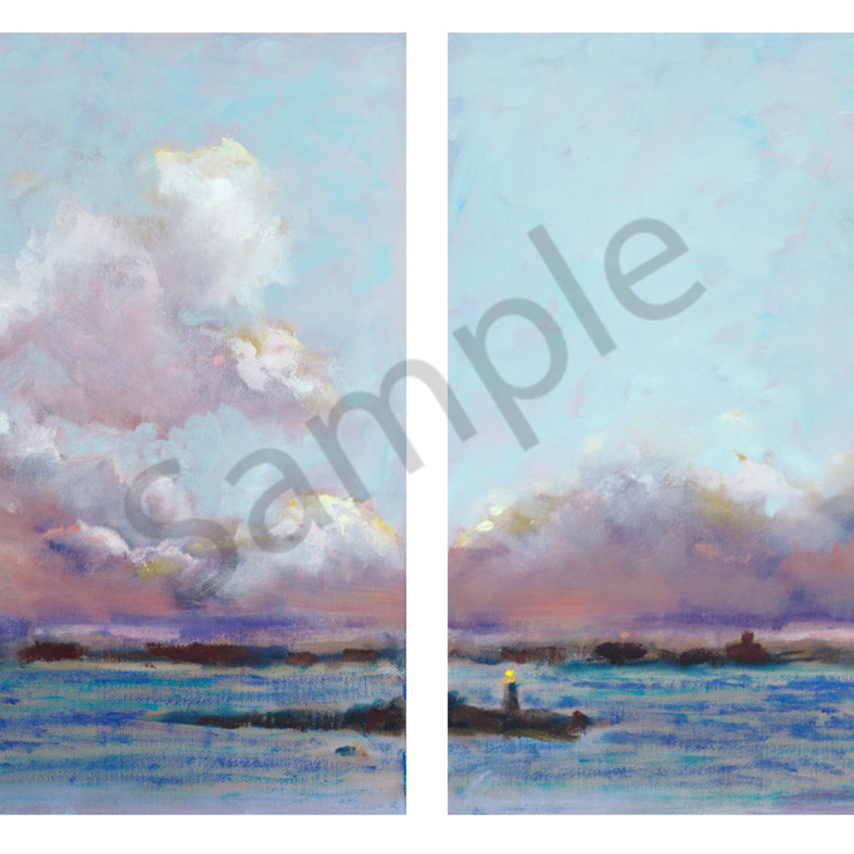 Clouds diptych juaggr