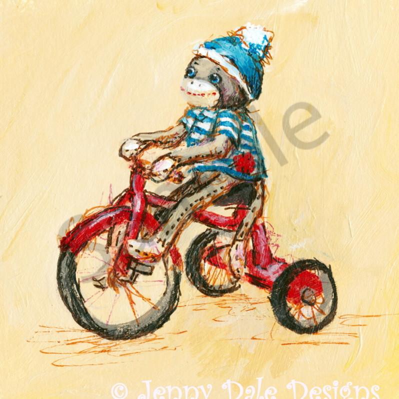 Sock monkey bicycle2 klkcxr