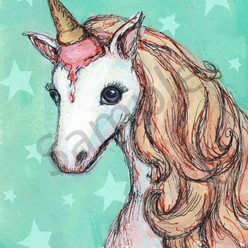 Unicorn mint ice cream stars ujdfuu