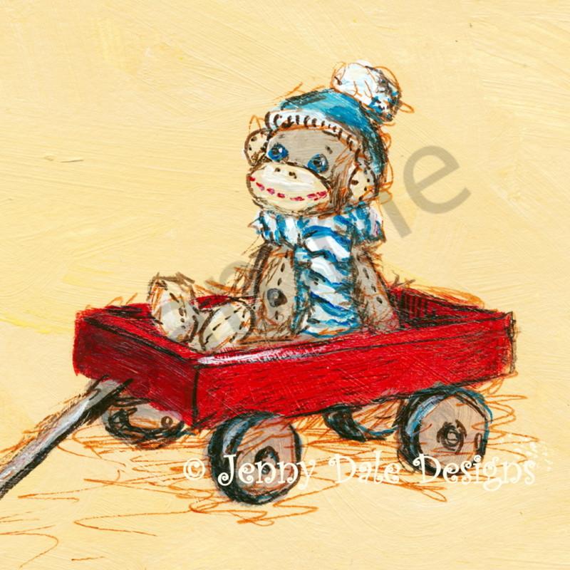 Sock monkey wagon s1qstz
