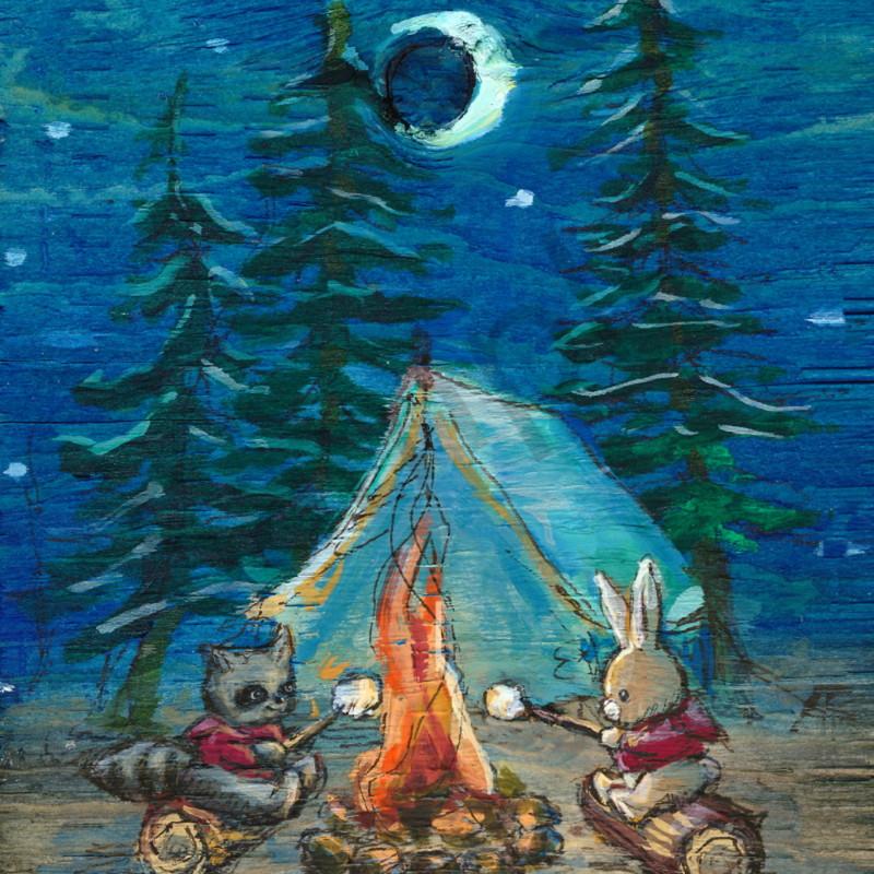 Camping scene sample mkpw1w
