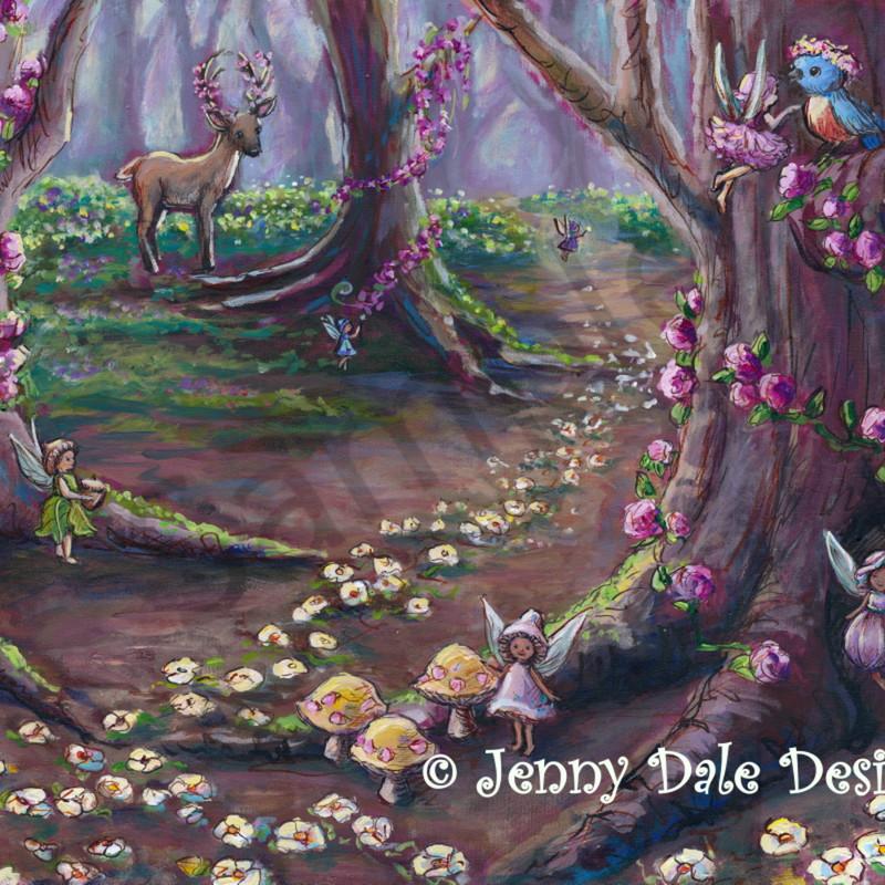 Fairy forest scene sample bjqgdj