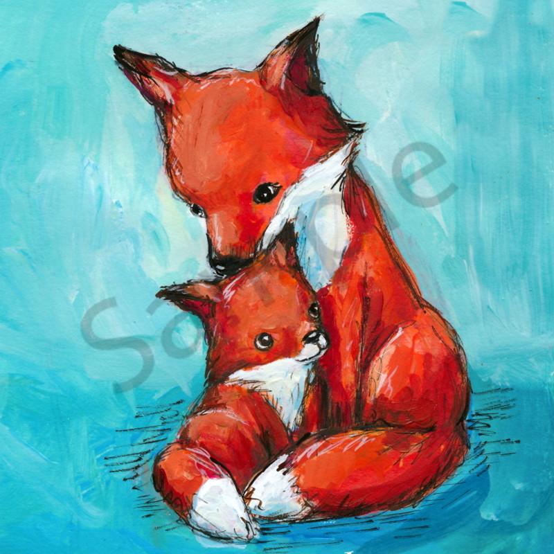 Jennifer stables fox mom baby ufwkcv