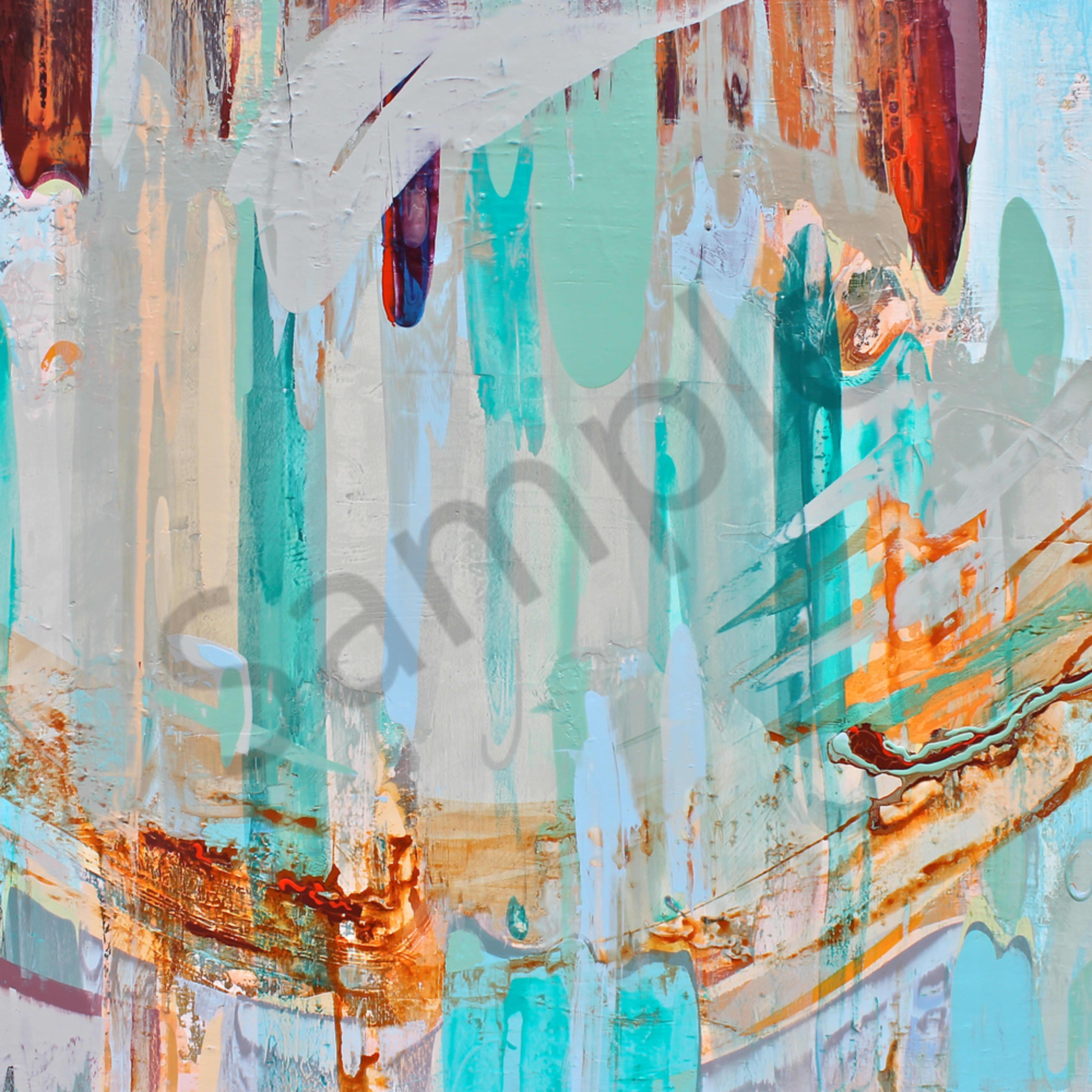 Color stream 40 x60 acrylic hgypug