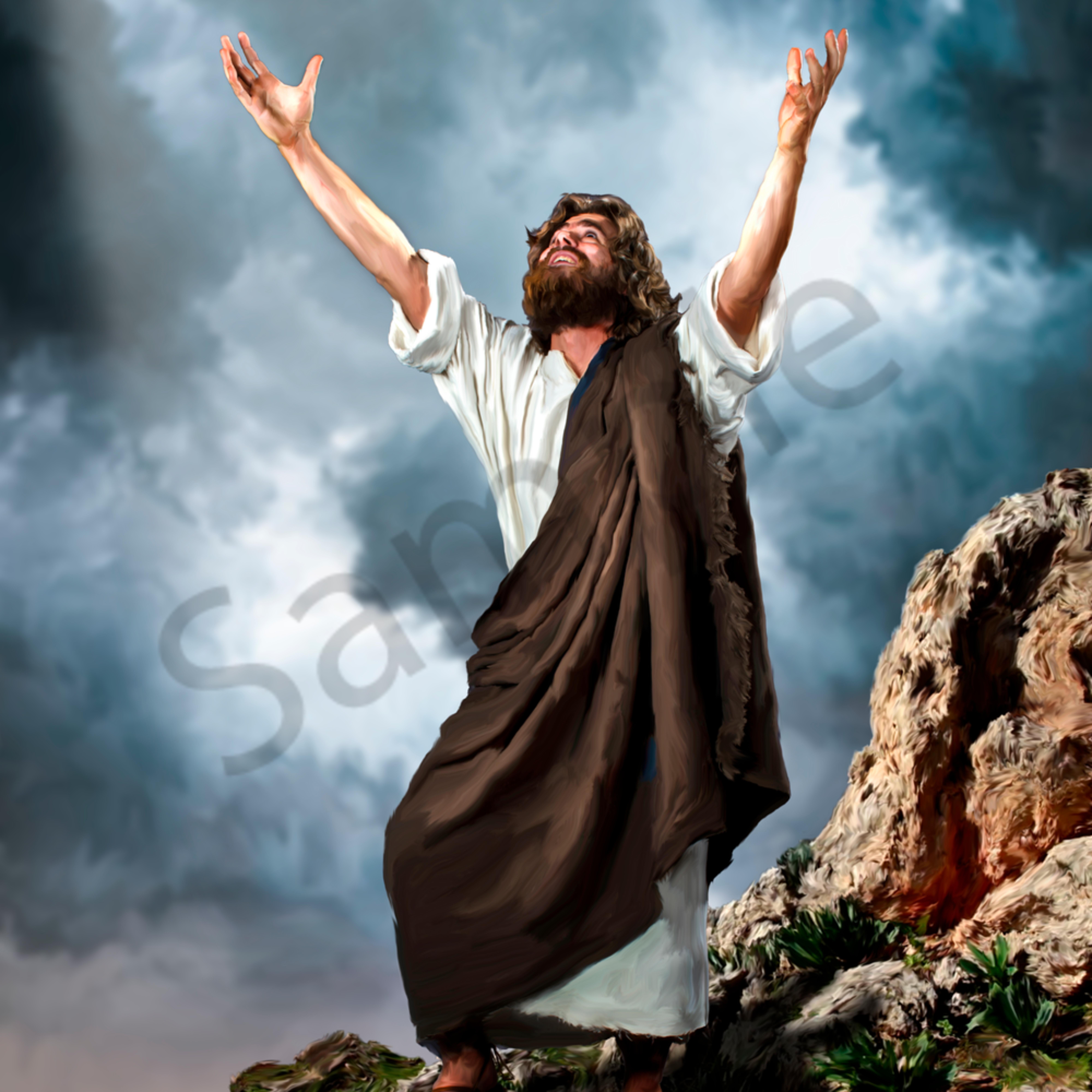 Jesus offers praise yfcqgl