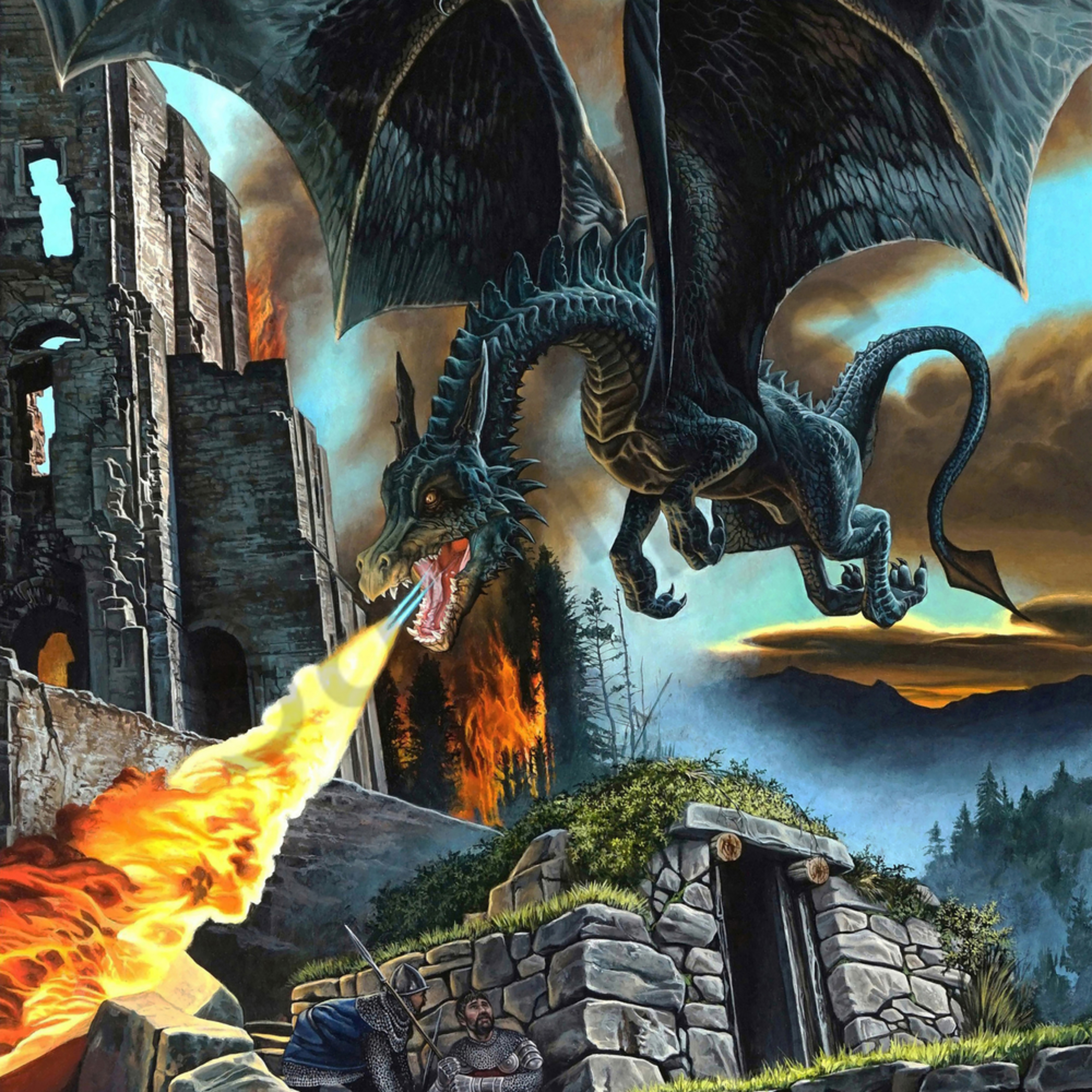 Dragon attack print file iewbei
