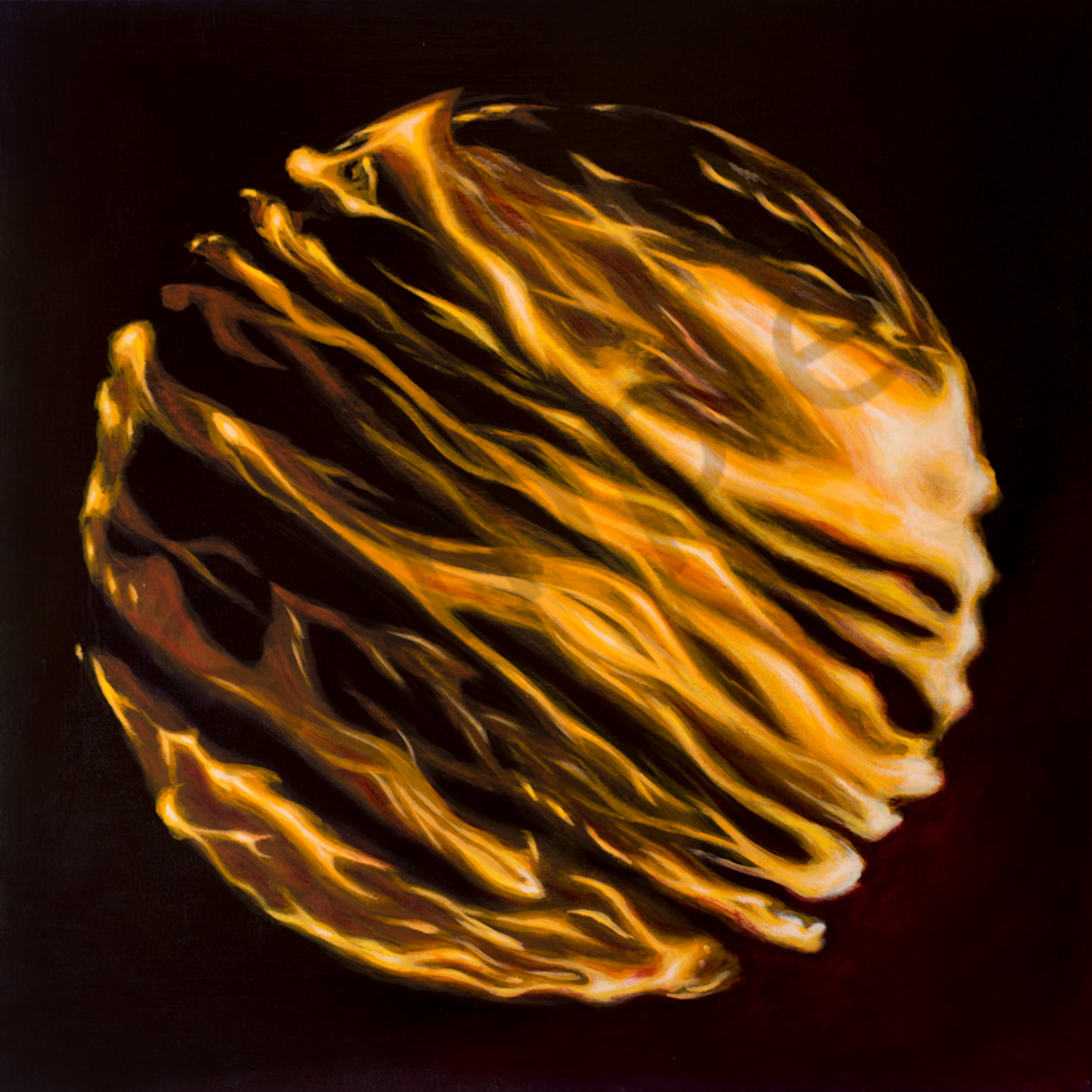 Fire globe black yf0buv