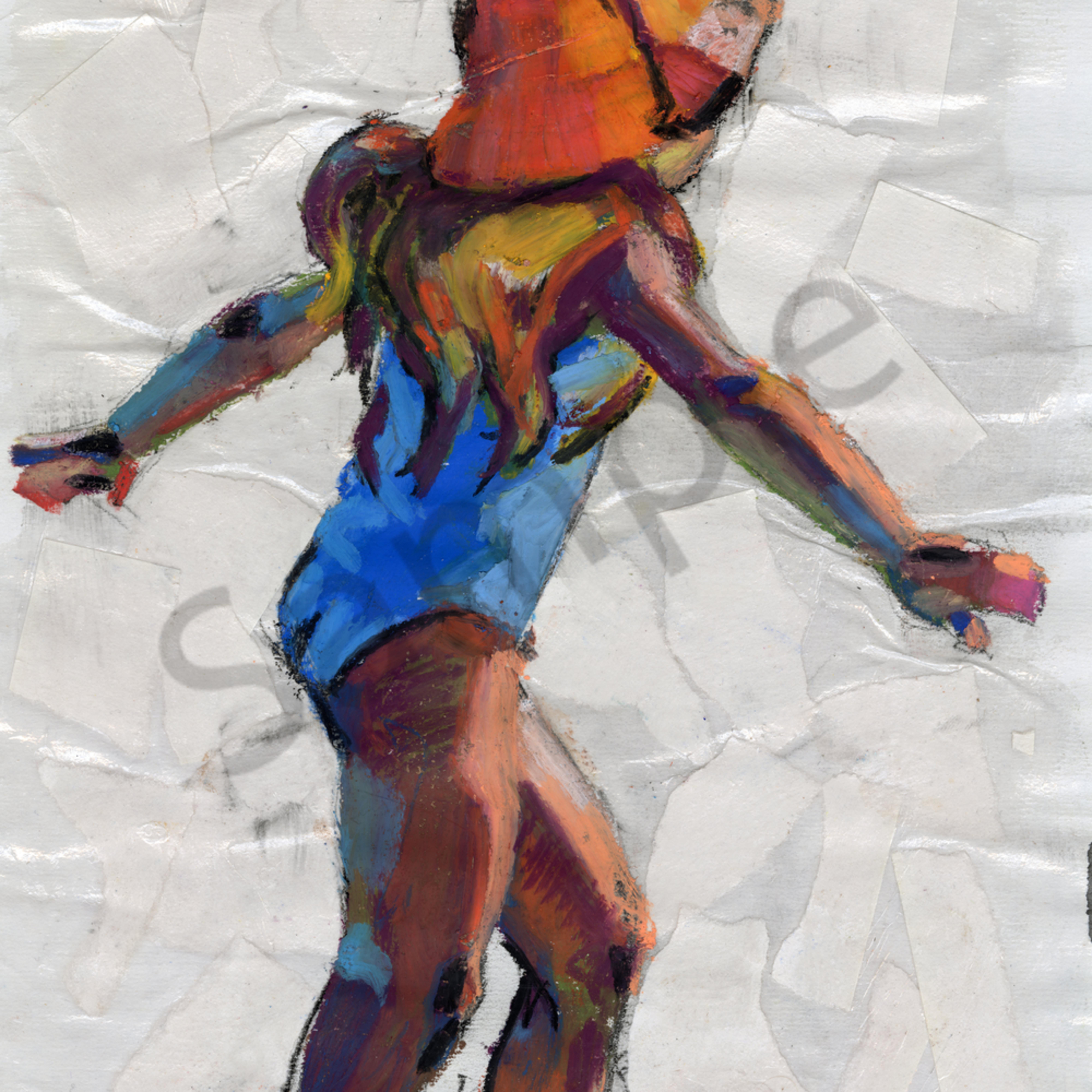 Dancing beach girl rkcota