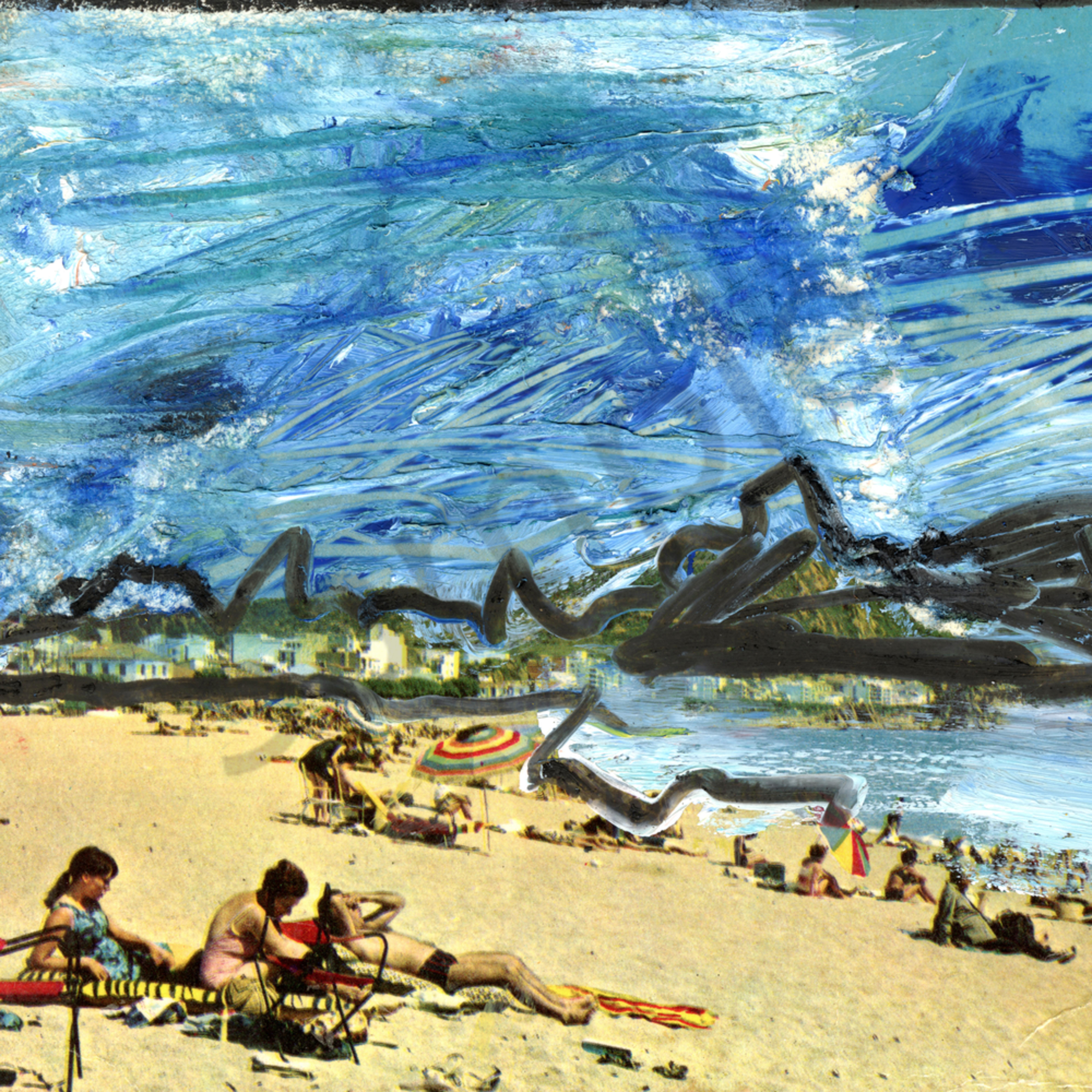 Contemporary beach day pz160u