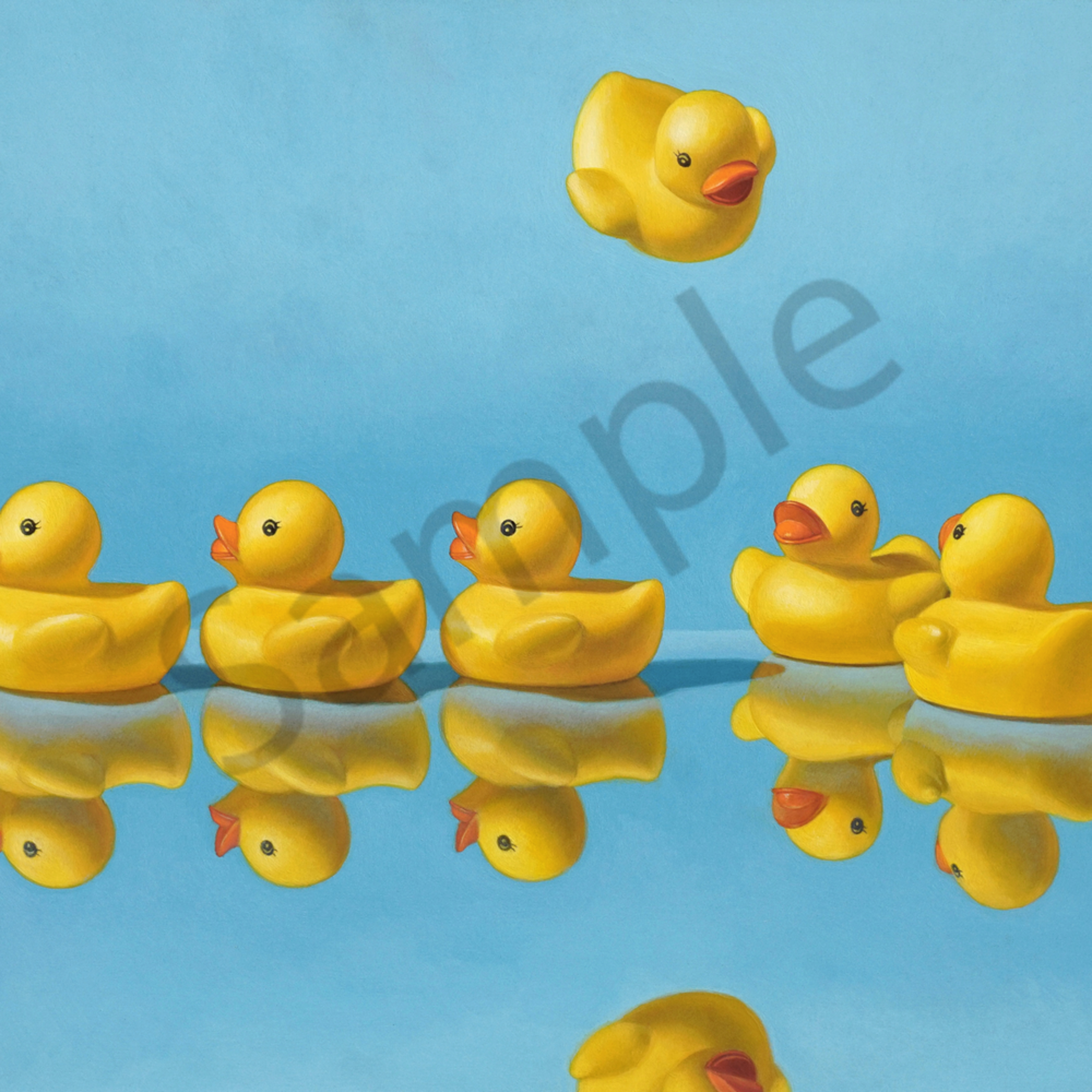 Getting all your ducks in a row 32x40 print file dzgapb