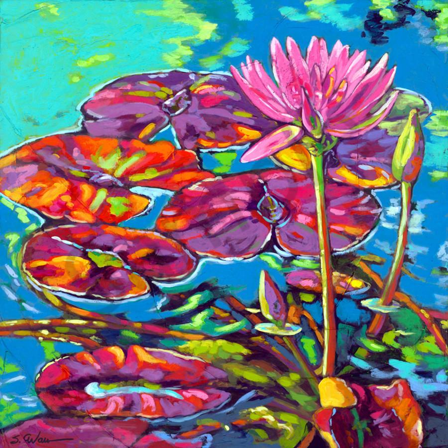 Purple lily pads web nltsyr