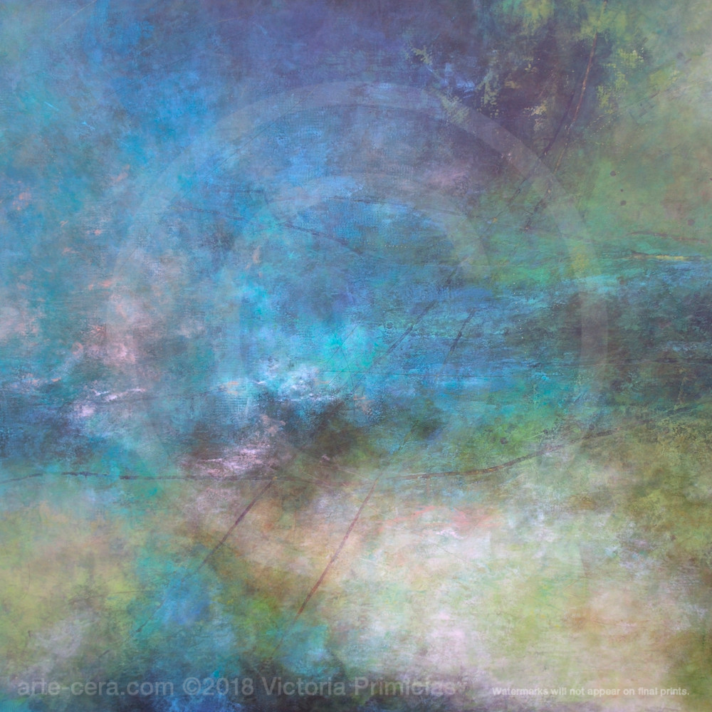 Abstract canvas wall art rolling river sdccci
