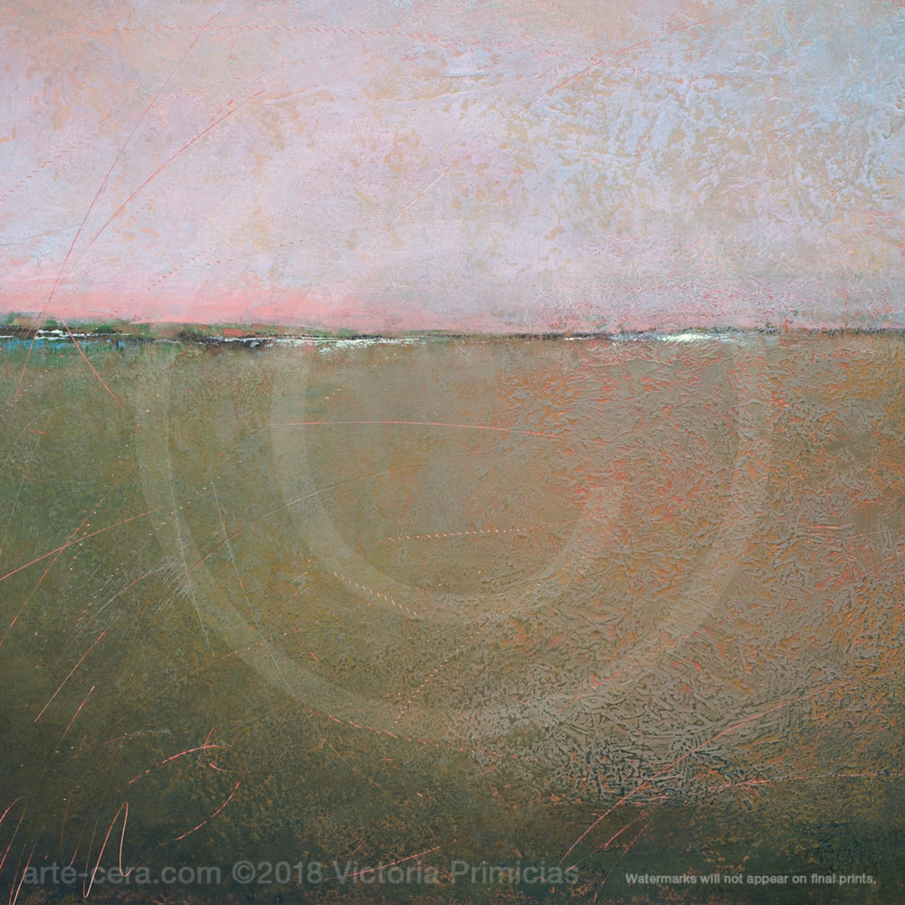 Contemporary landscape paintings hidden glow tqn0nc