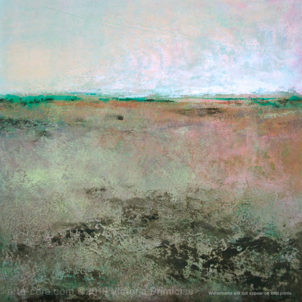 Painting of landscapes coral belles voskdf