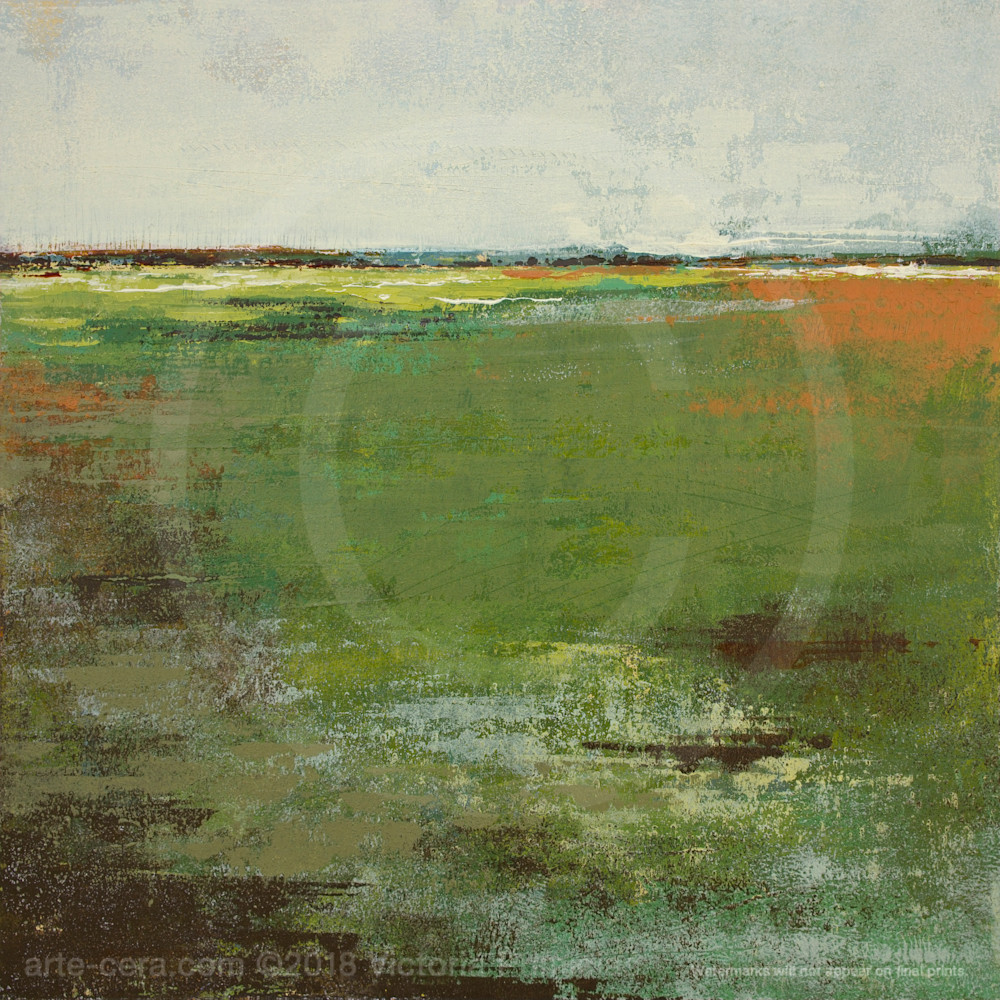 Painting of landscapes spring envy grsq7y