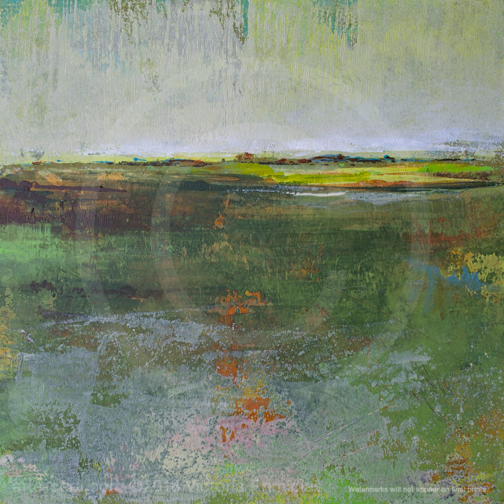 Painting of landscapes verdant excuse lz02kf