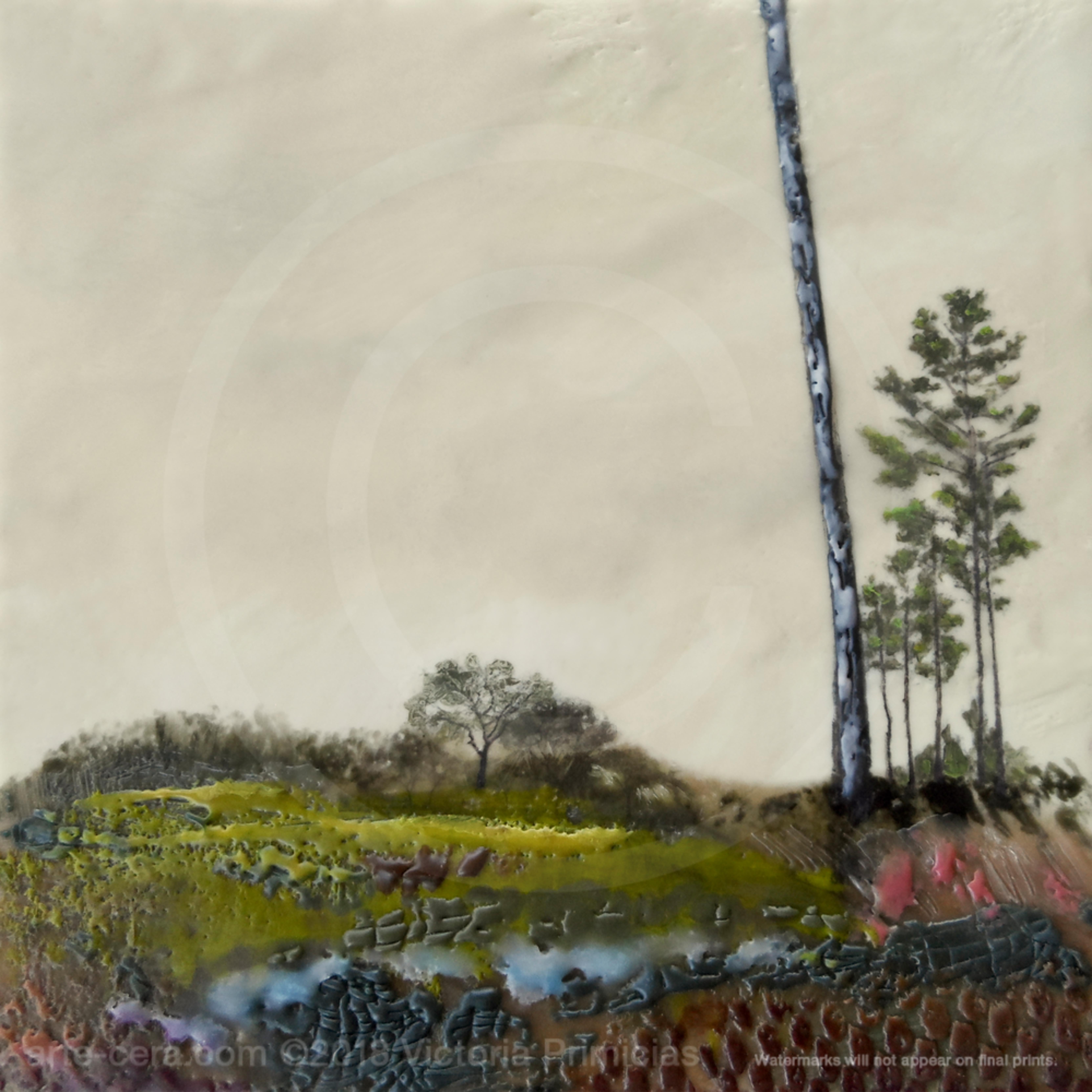 Tree painting descent from biltmore ducvsl
