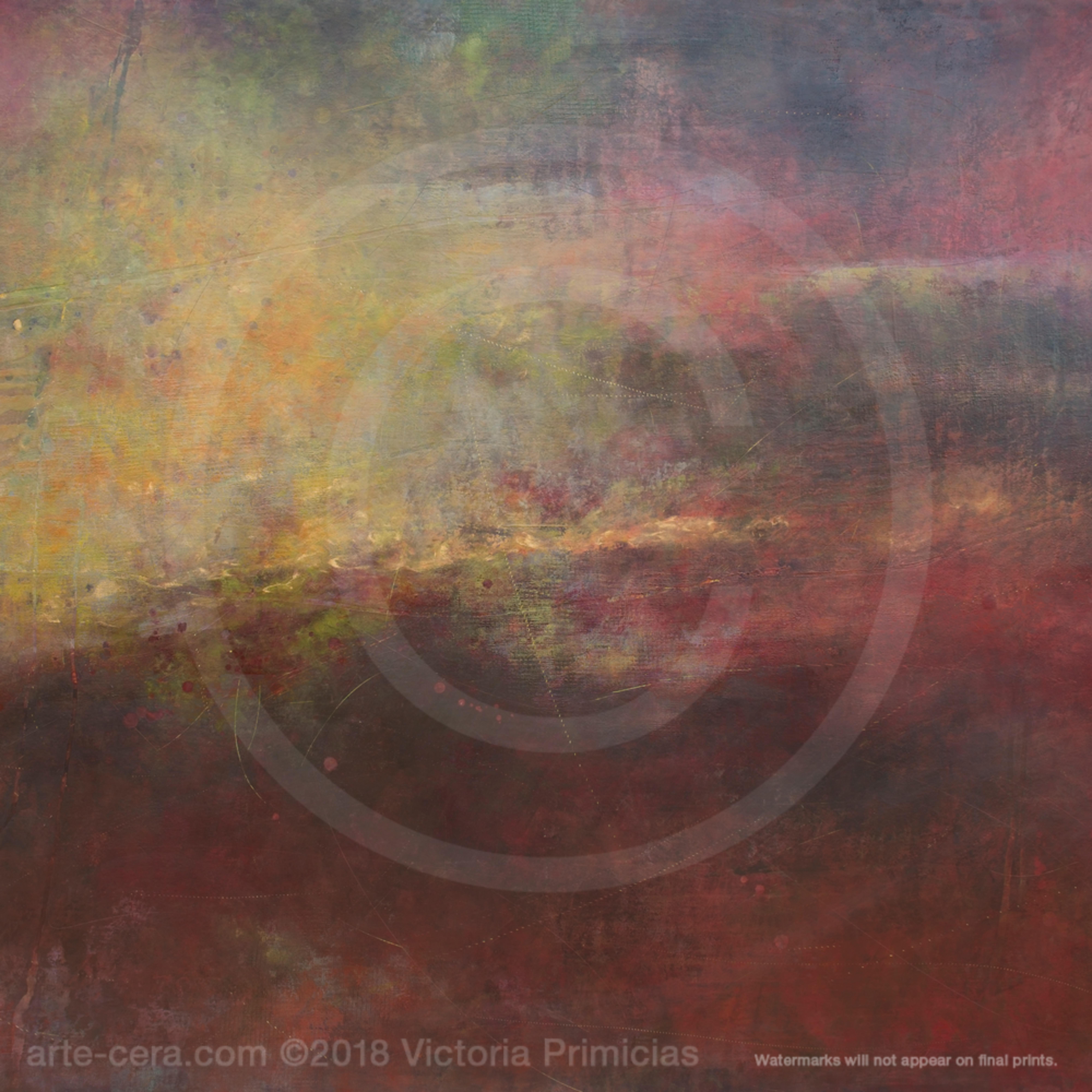 Abstract canvas wall art deep sense wz2mb9