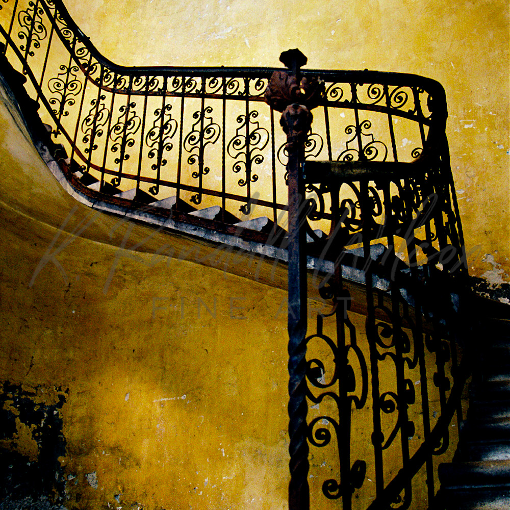 Budapest staircase 36x54 layered asf krev7y