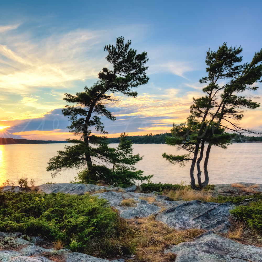 Sunset pines deplkm