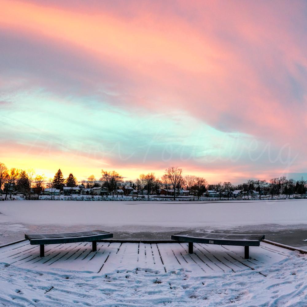 Symmetrical sunset lpnfem