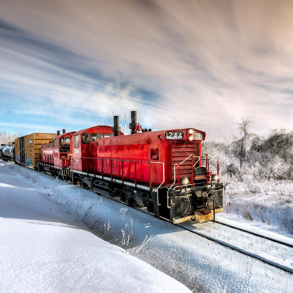 Working the winter rails yjtnpj