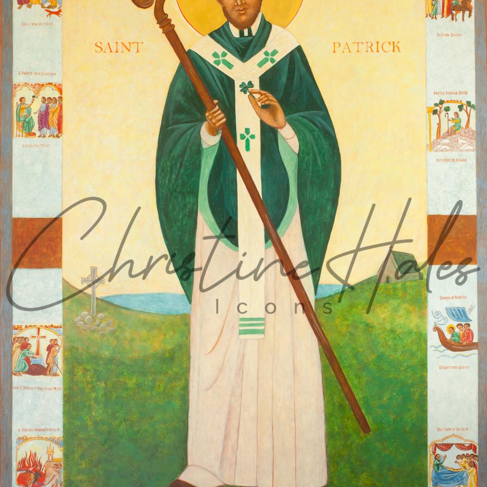 Saint patrick icon zcpkfi