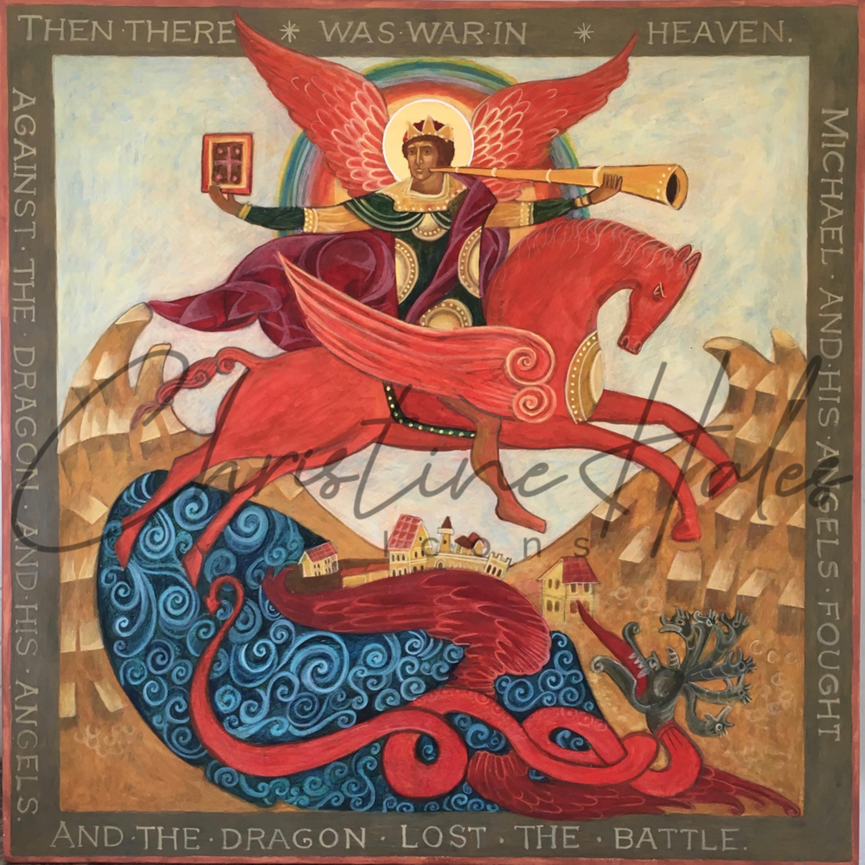 Apocalyptic archangel michael koazl6
