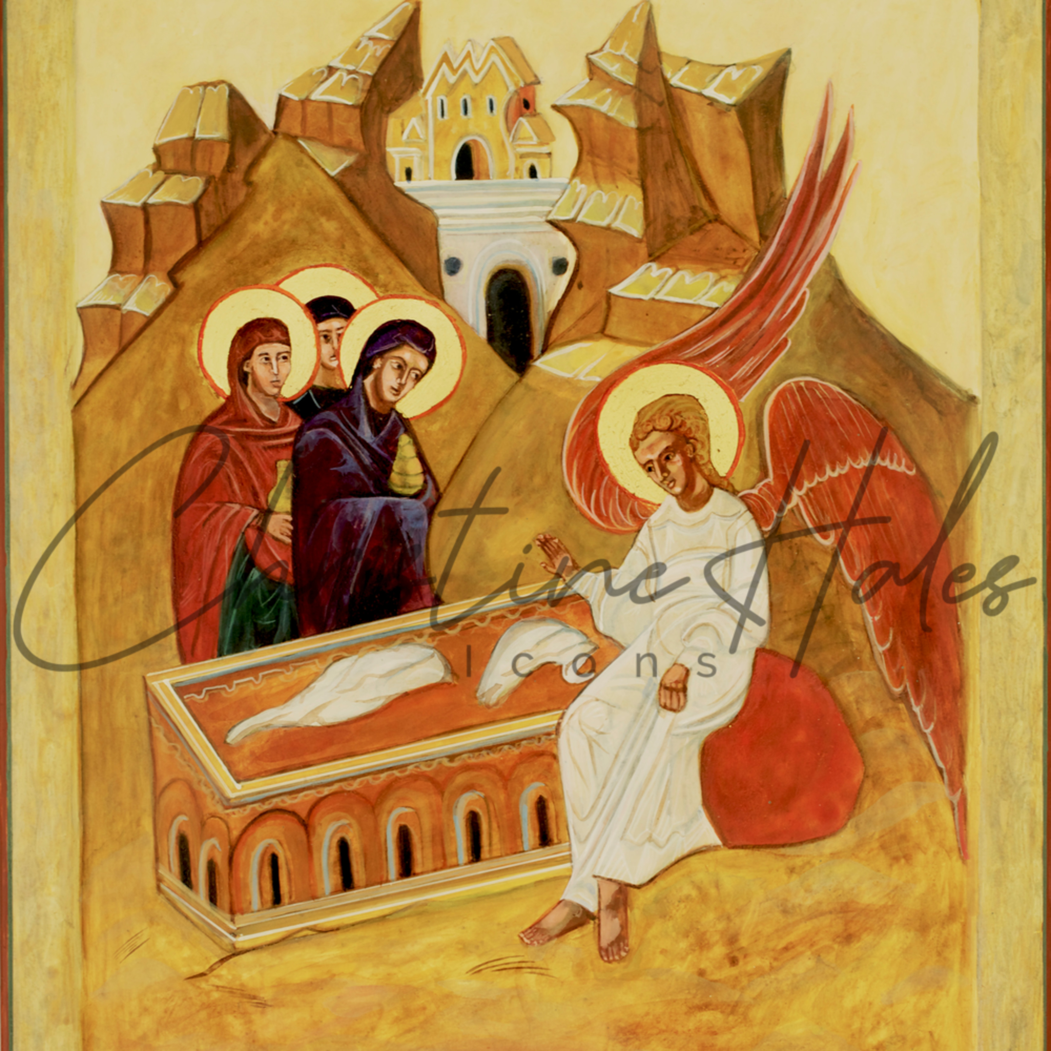 Holy myrrh bearers hales jcdbec