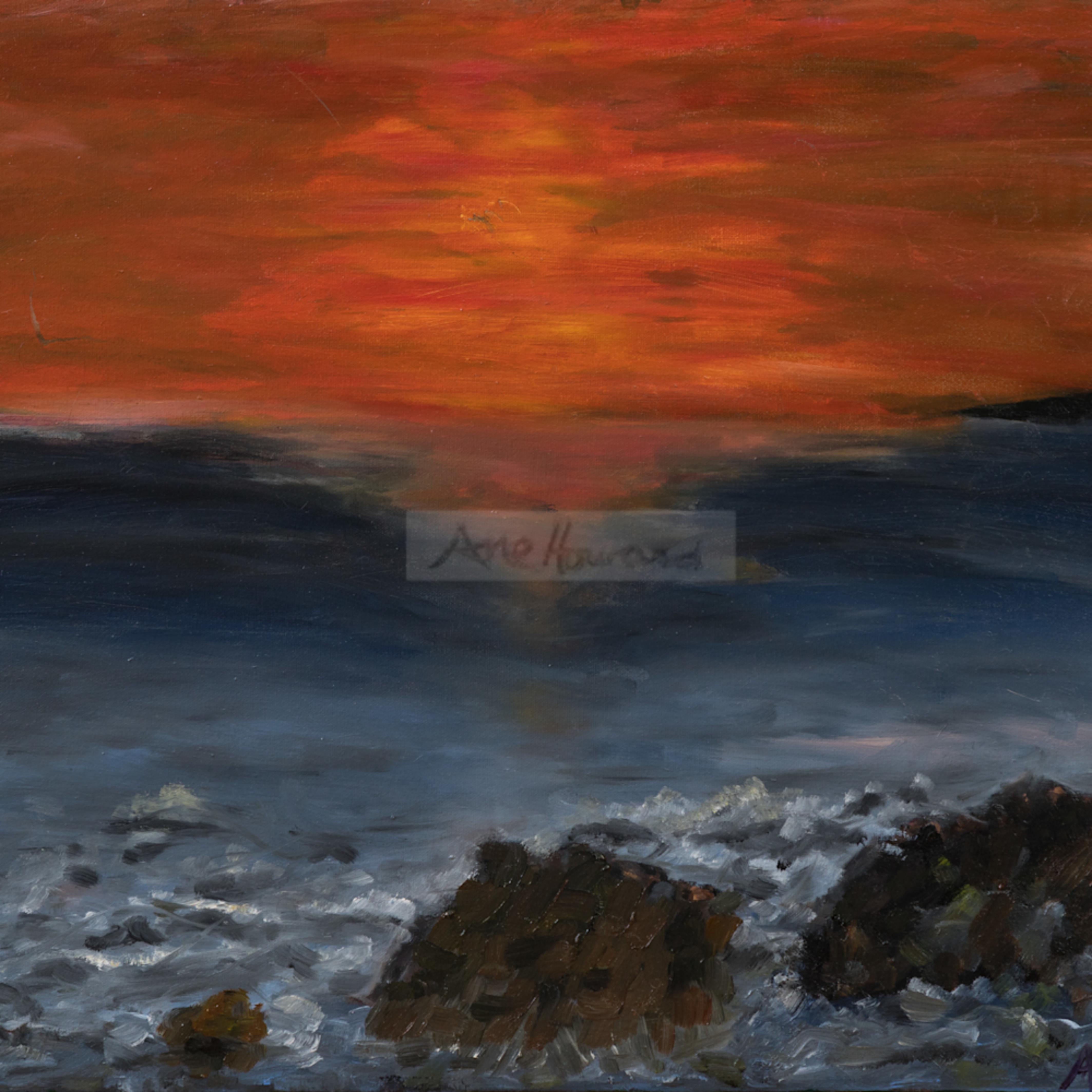 Sunset in santa cruz hkmqiy