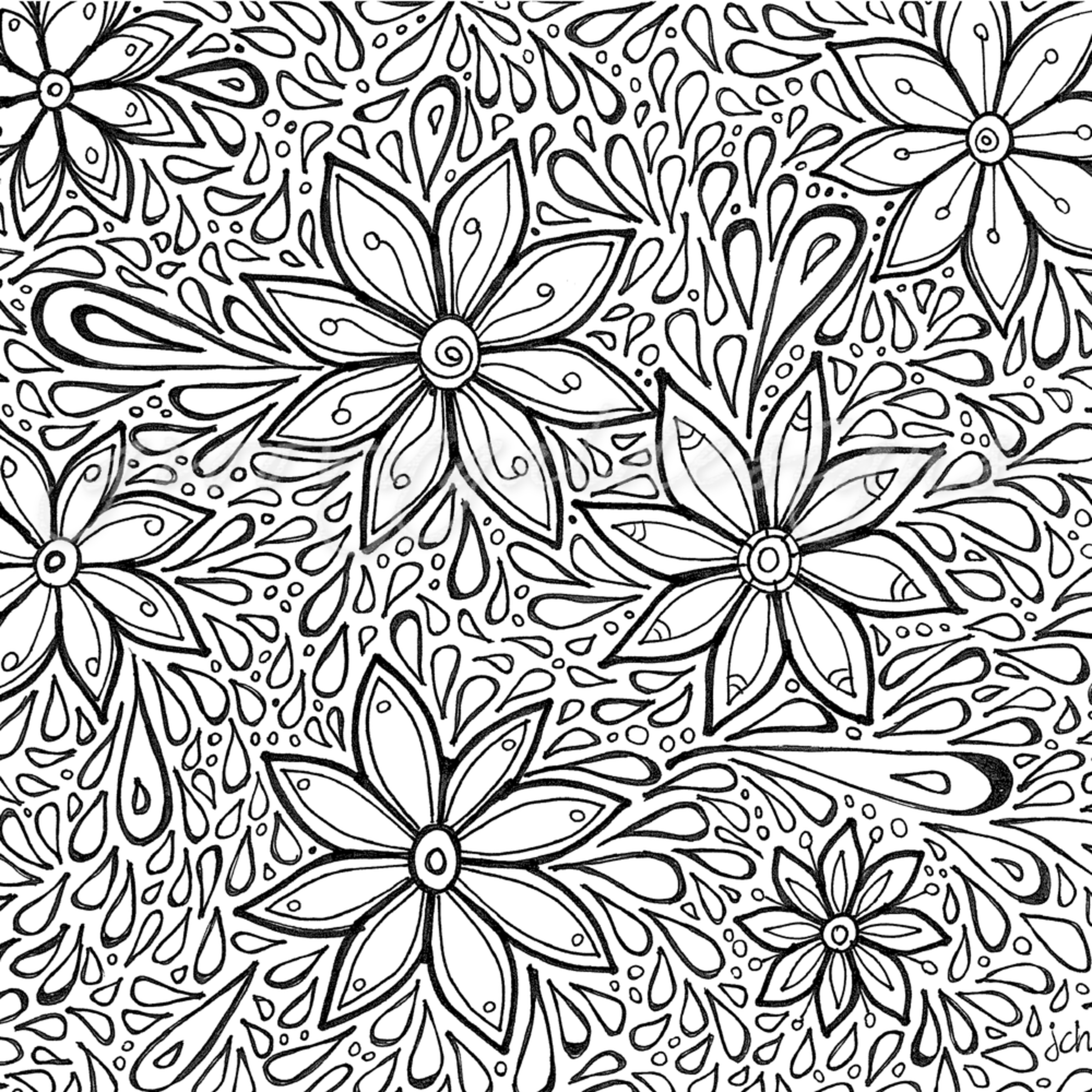 Flower power color it kfx9pp