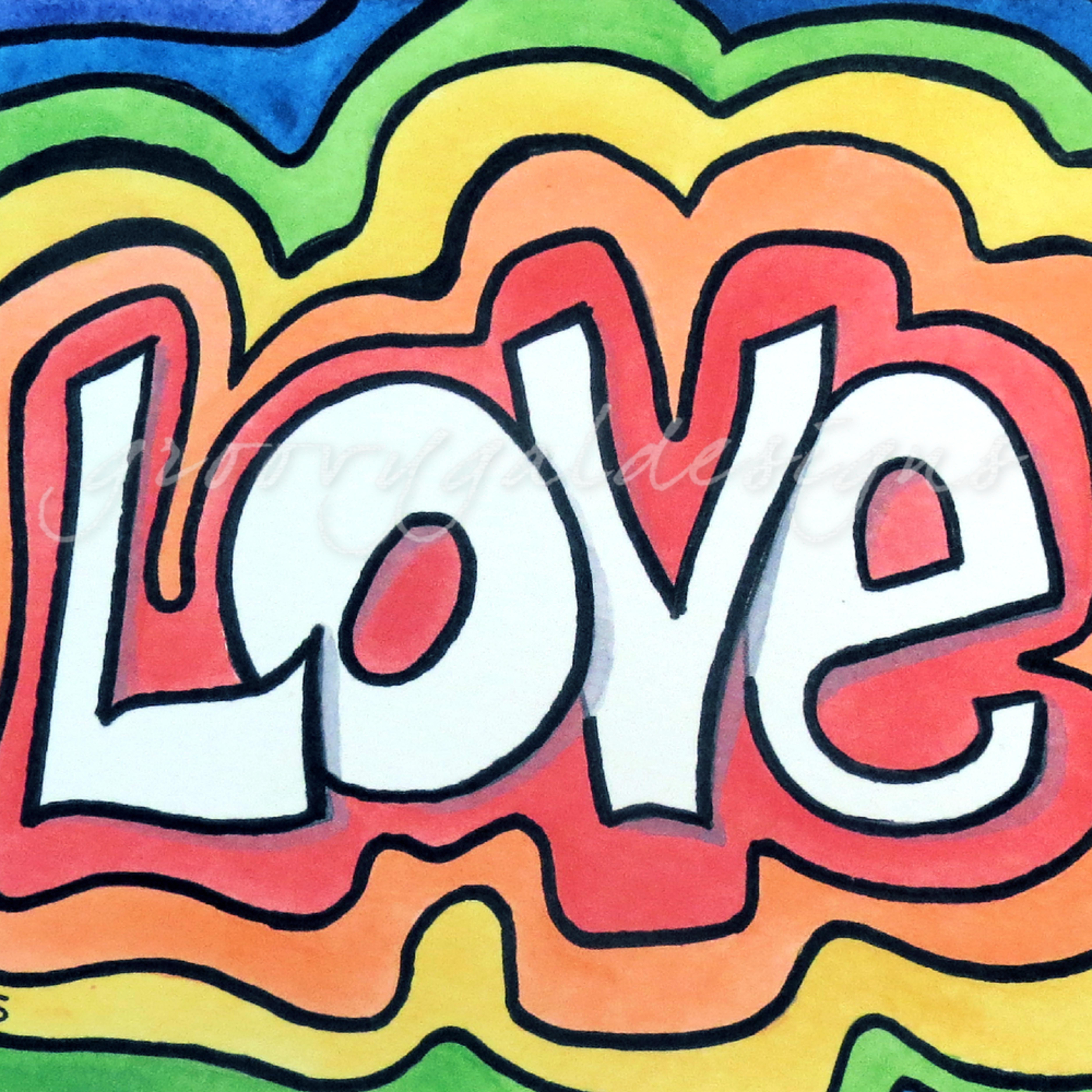 Rainbow love sxwnjt