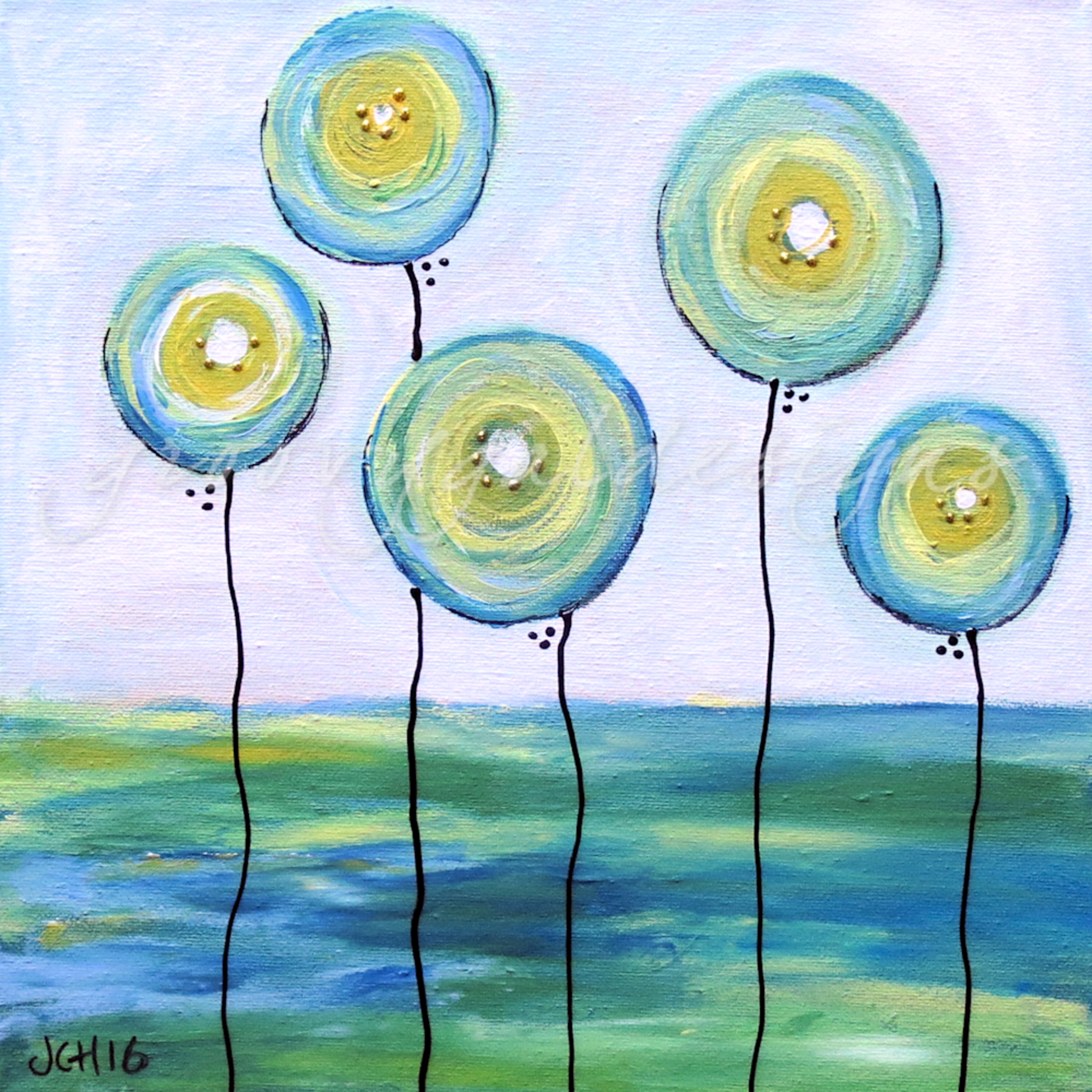 Blue balloons tvlhn3